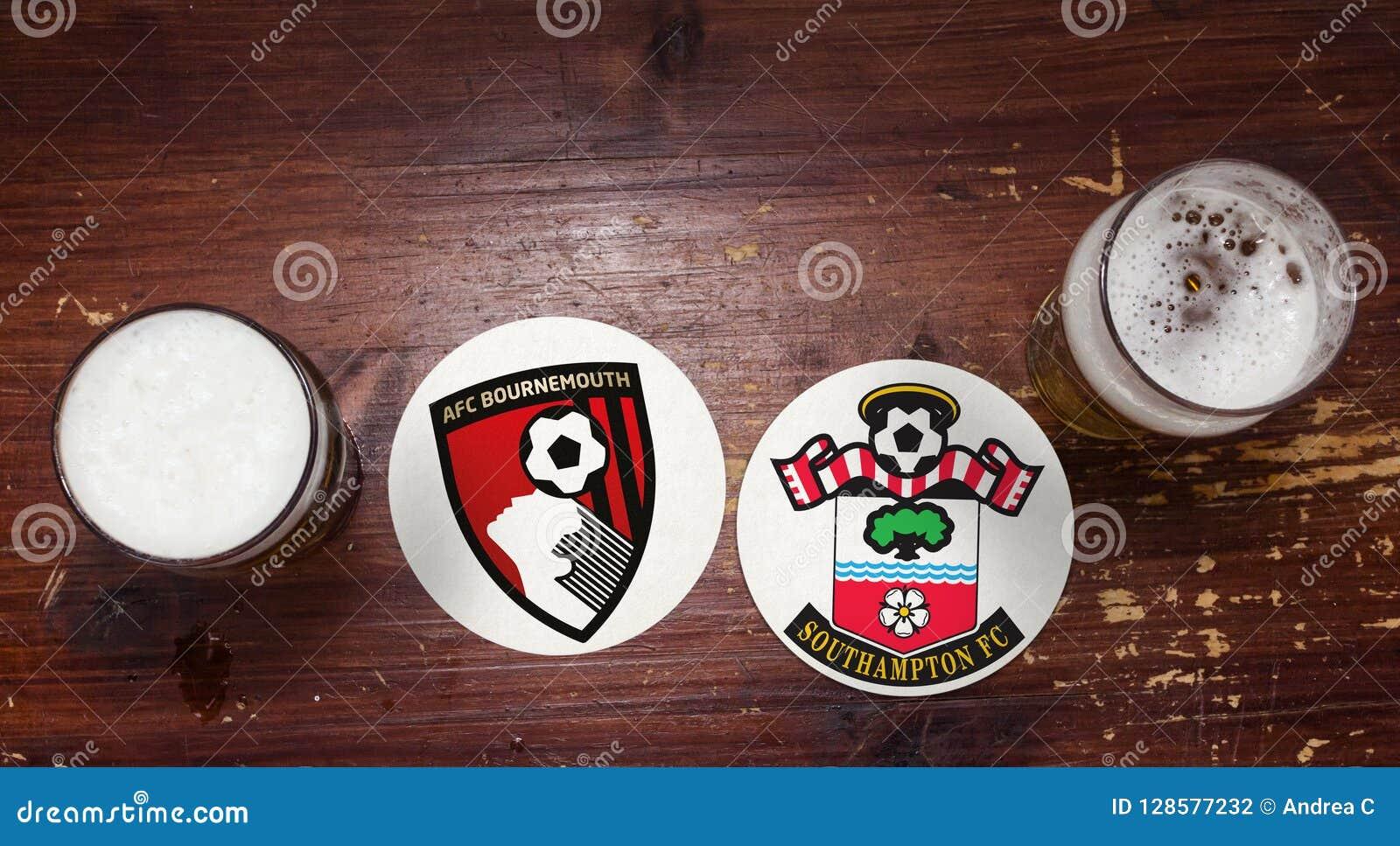 Bournemouth contre southampton