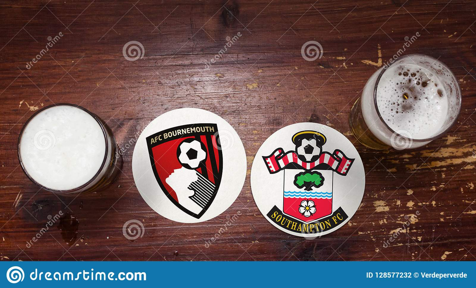 Bournemouth versus southampton