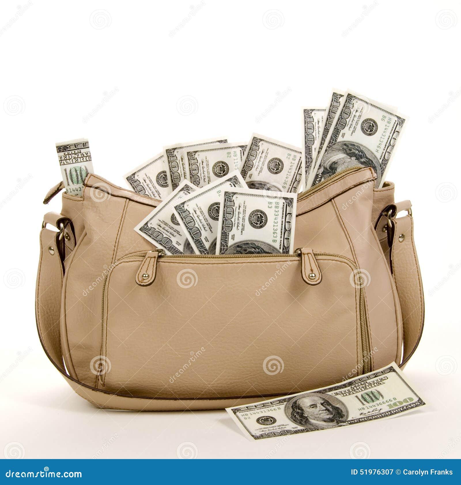 Bourse complètement d argent