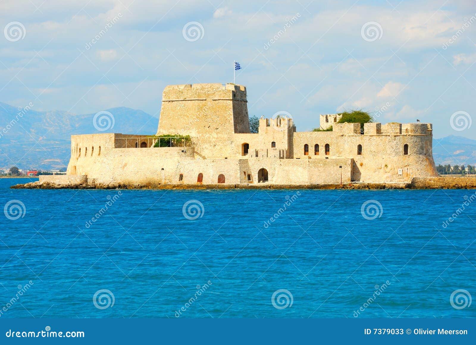 Bourtzi castle, greece