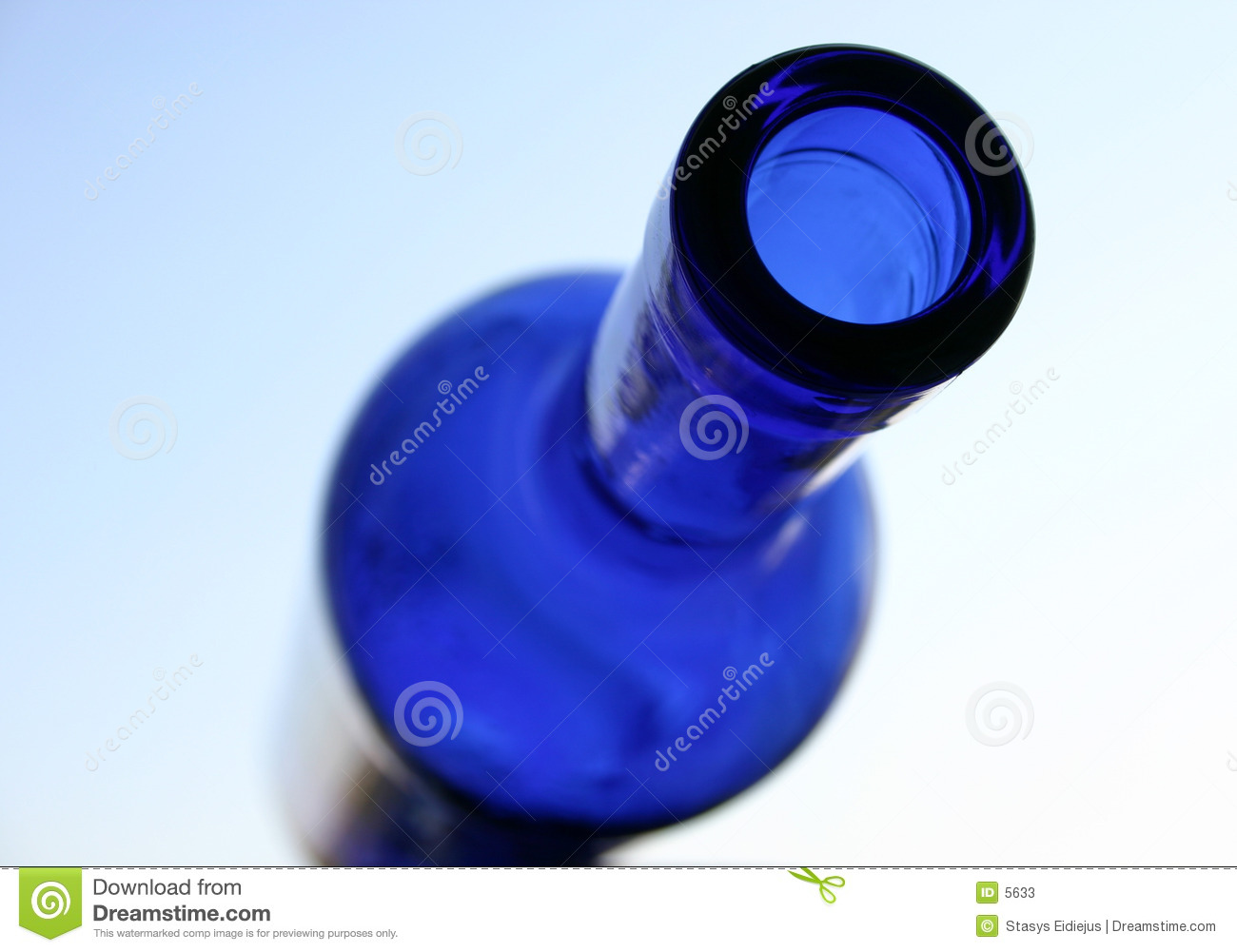 Bouteille bleue II