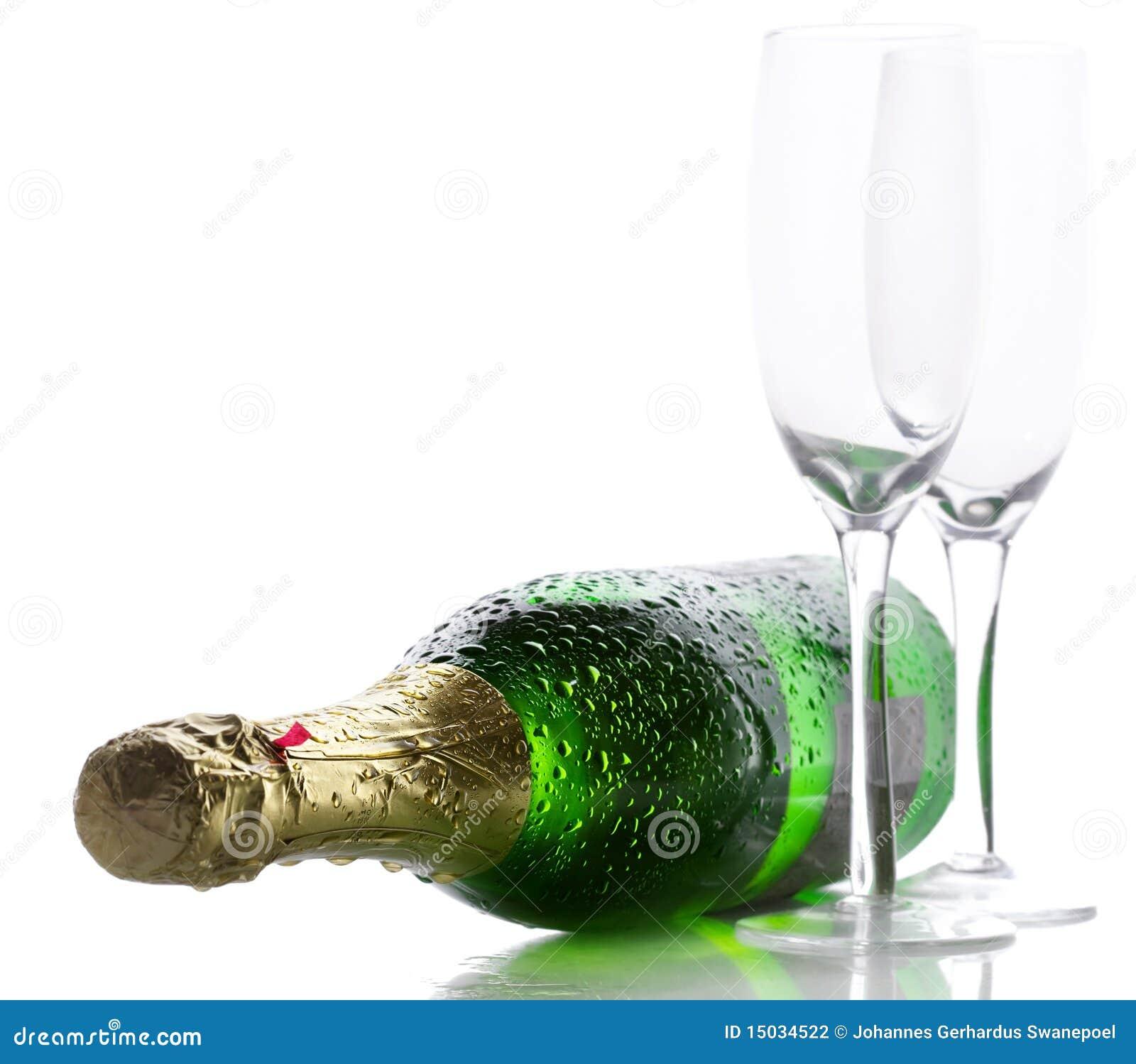 Bouteille de champagne photographie stock image 15034522 for Photographie de stock
