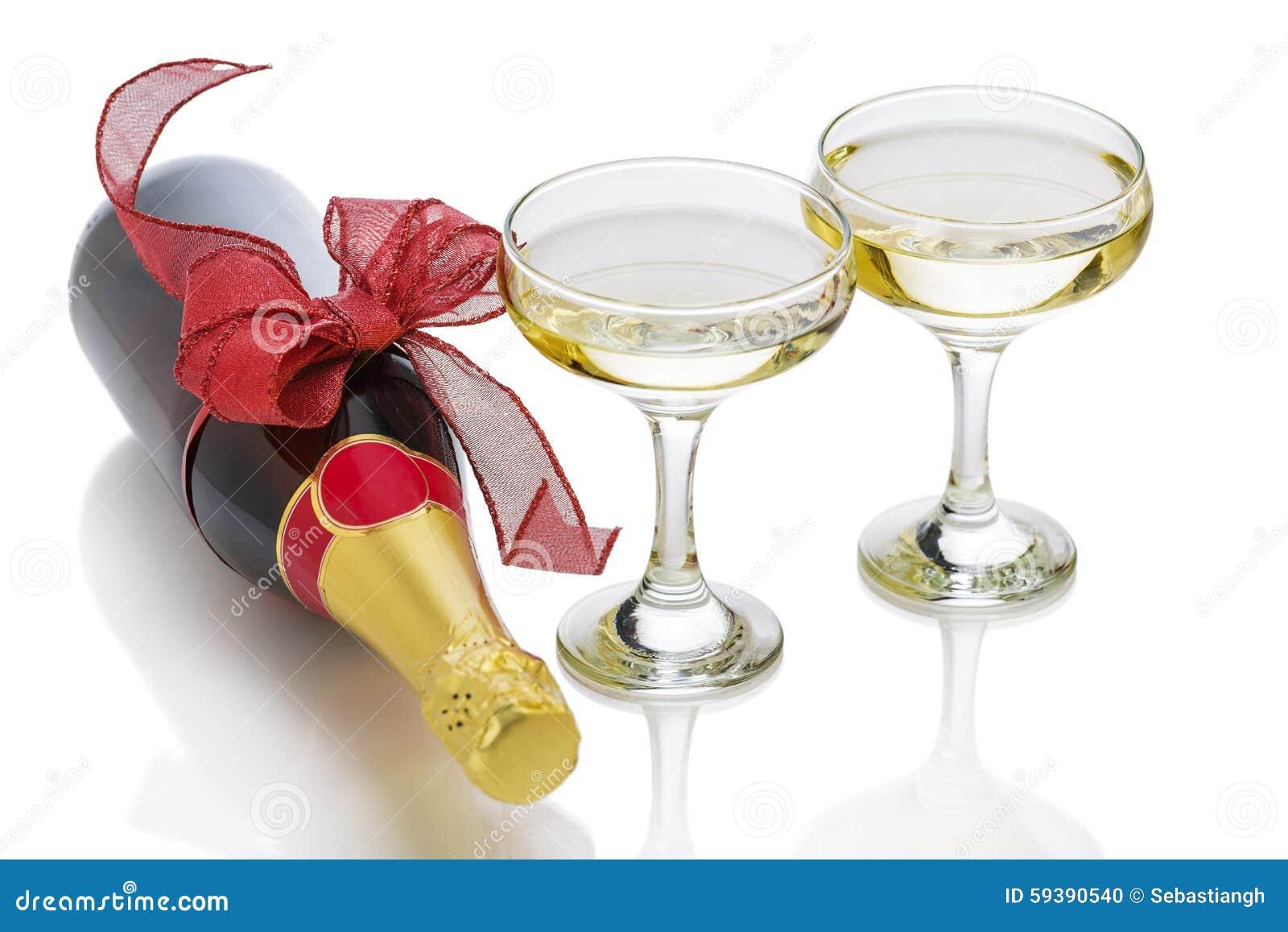 bouteille de f te de champagne photo stock image du c l bration boisson 59390540. Black Bedroom Furniture Sets. Home Design Ideas