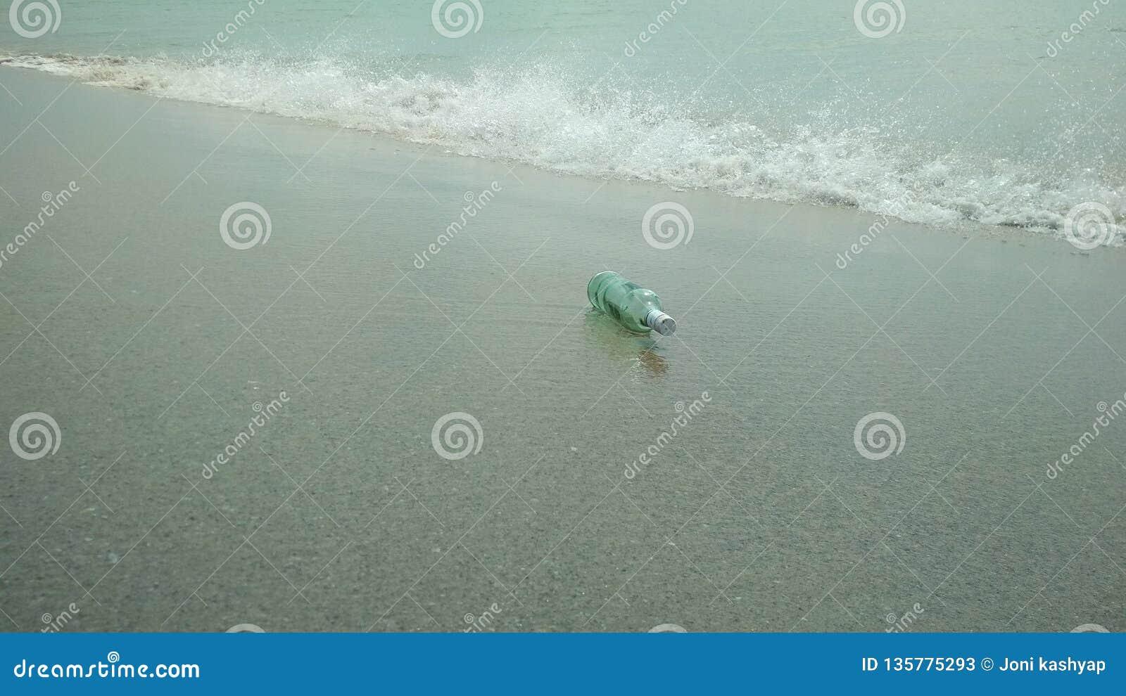 Bouteille de mer