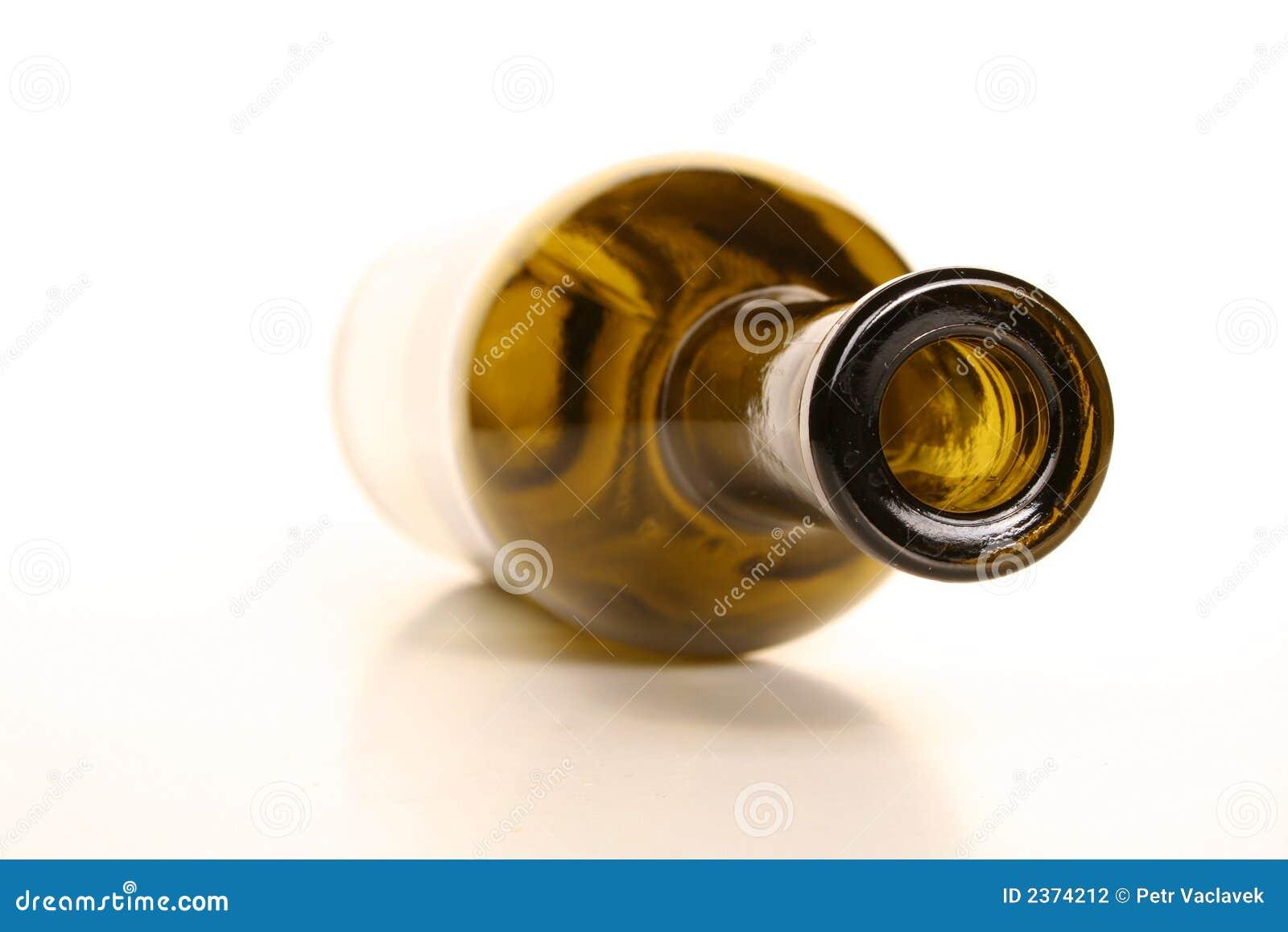bouteille de vin vide photographie stock image 2374212. Black Bedroom Furniture Sets. Home Design Ideas