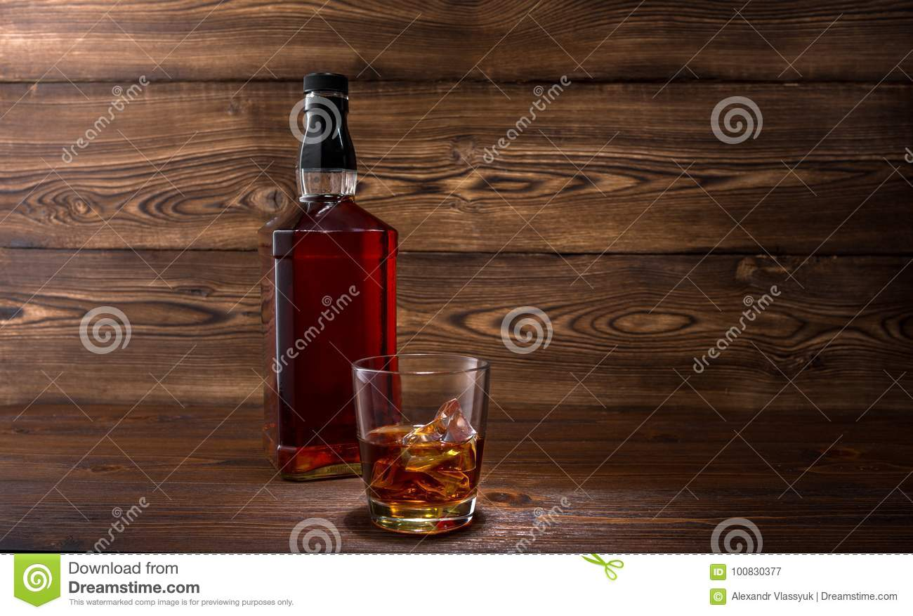 Bouteille de whiskey