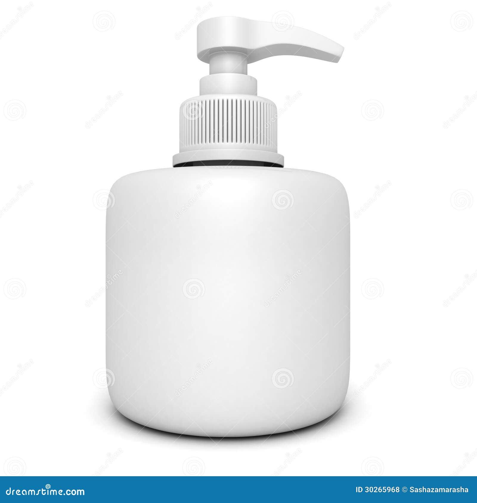 bouteille de plastique de pompe de distributeur de gel de mousse ou de savon liquide. Black Bedroom Furniture Sets. Home Design Ideas