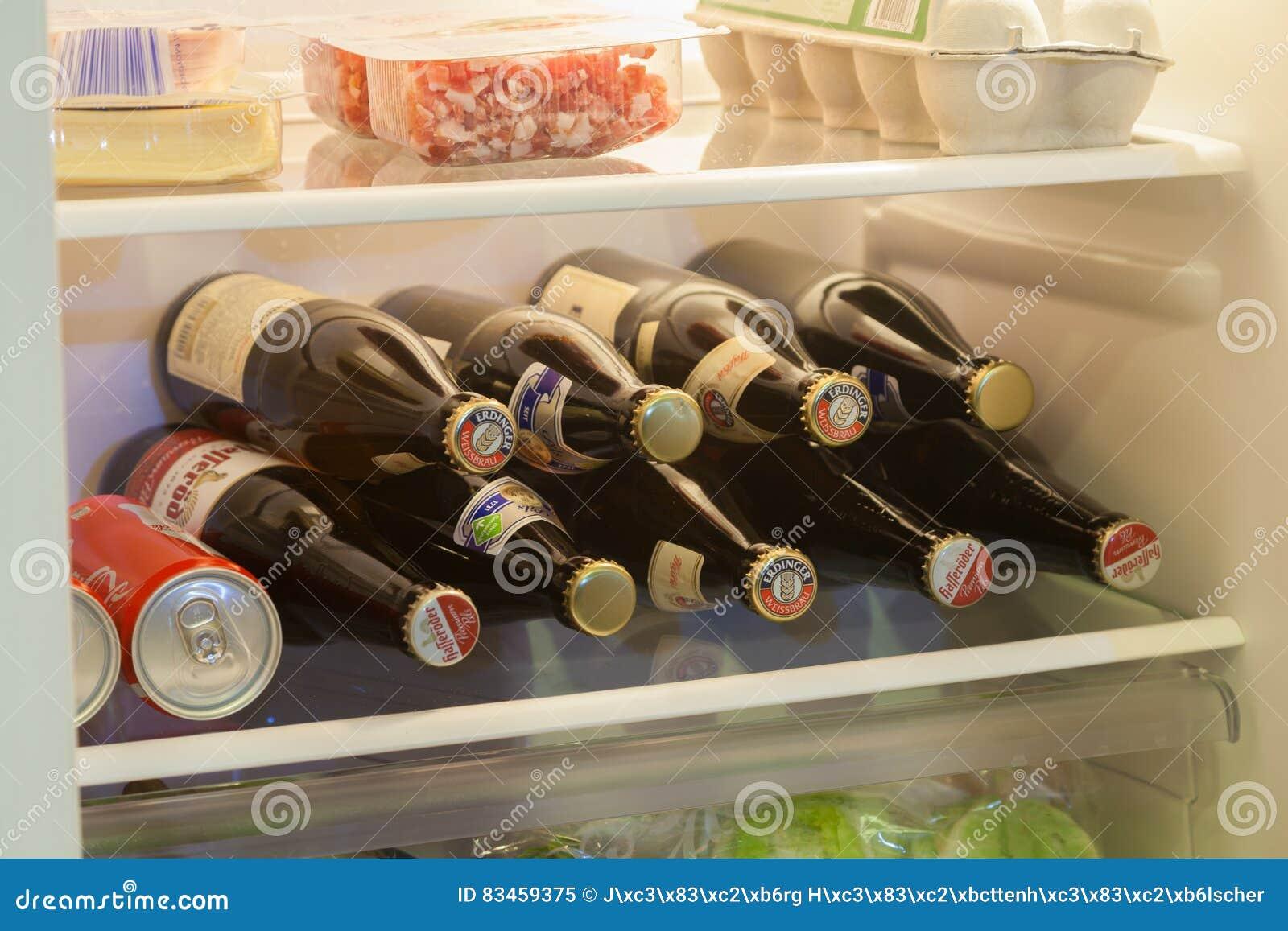 Bouteilles à bière diverses