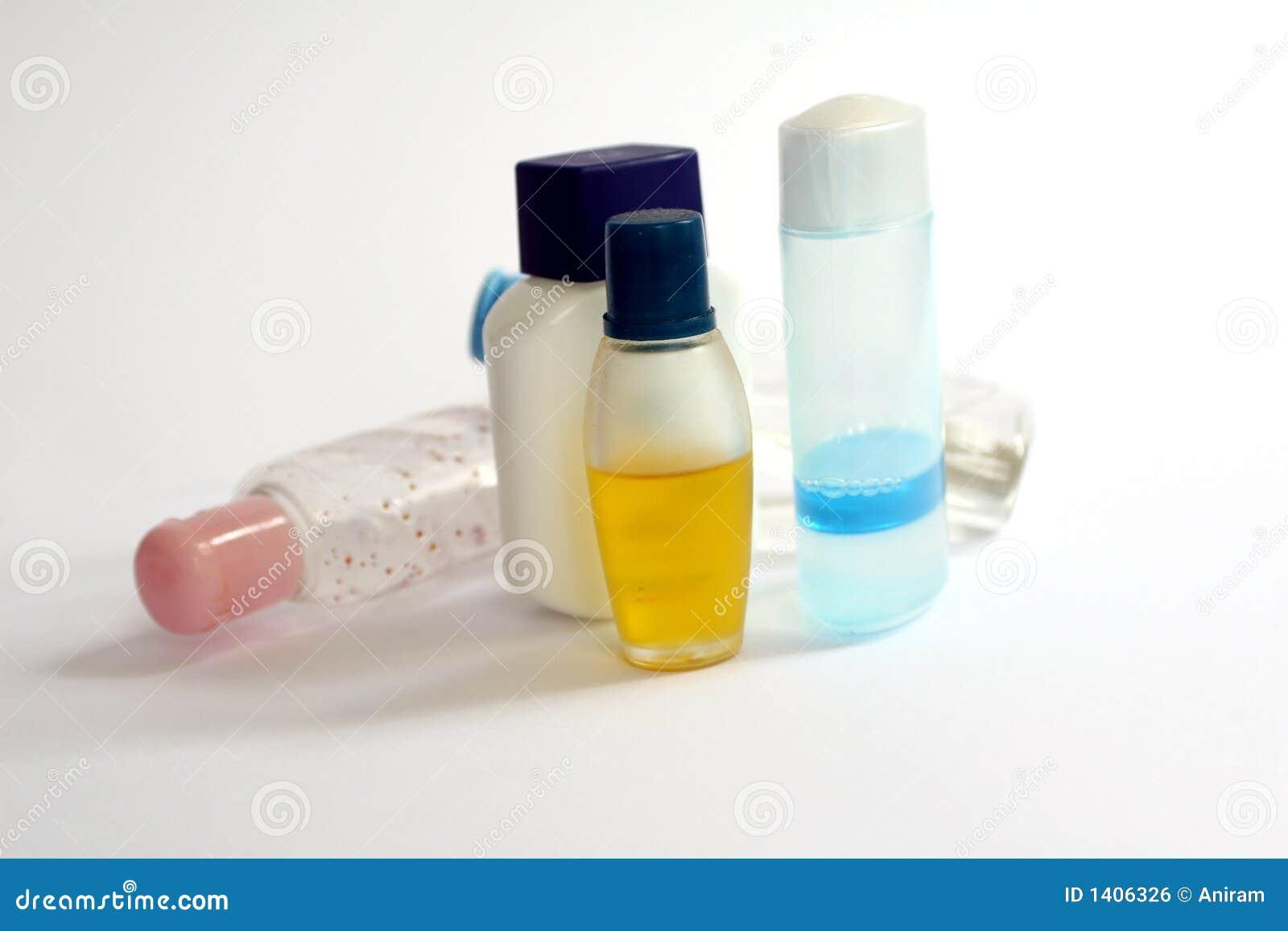 Bouteilles cosmétiques
