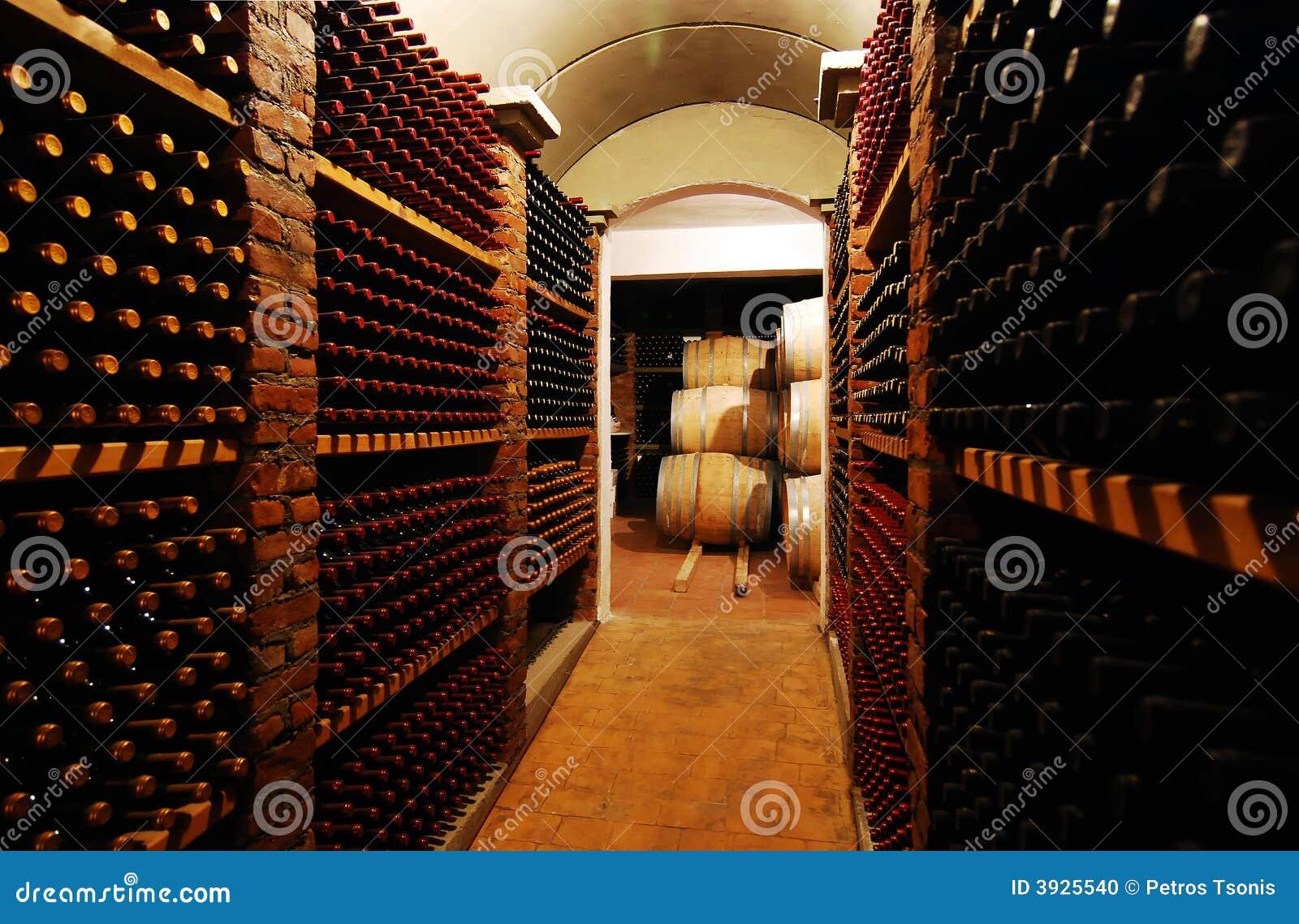 Bouteilles De Vin Photo Stock Image 3925540