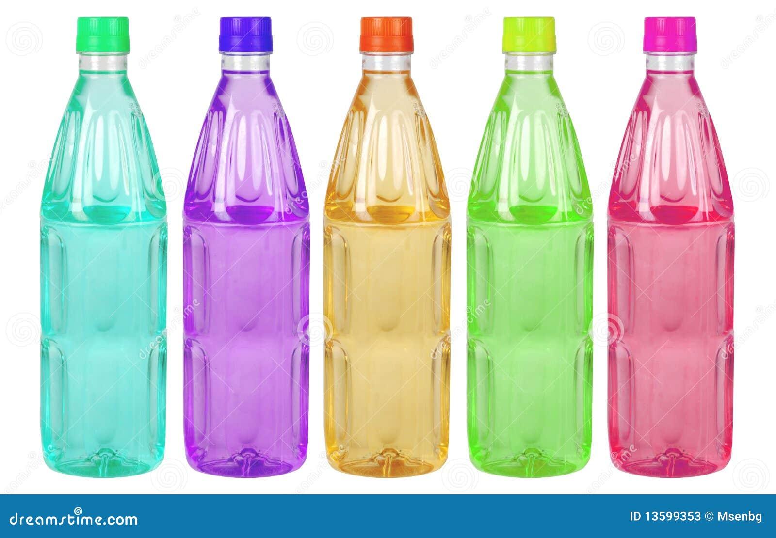 bouteilles en plastique color es image stock image du. Black Bedroom Furniture Sets. Home Design Ideas