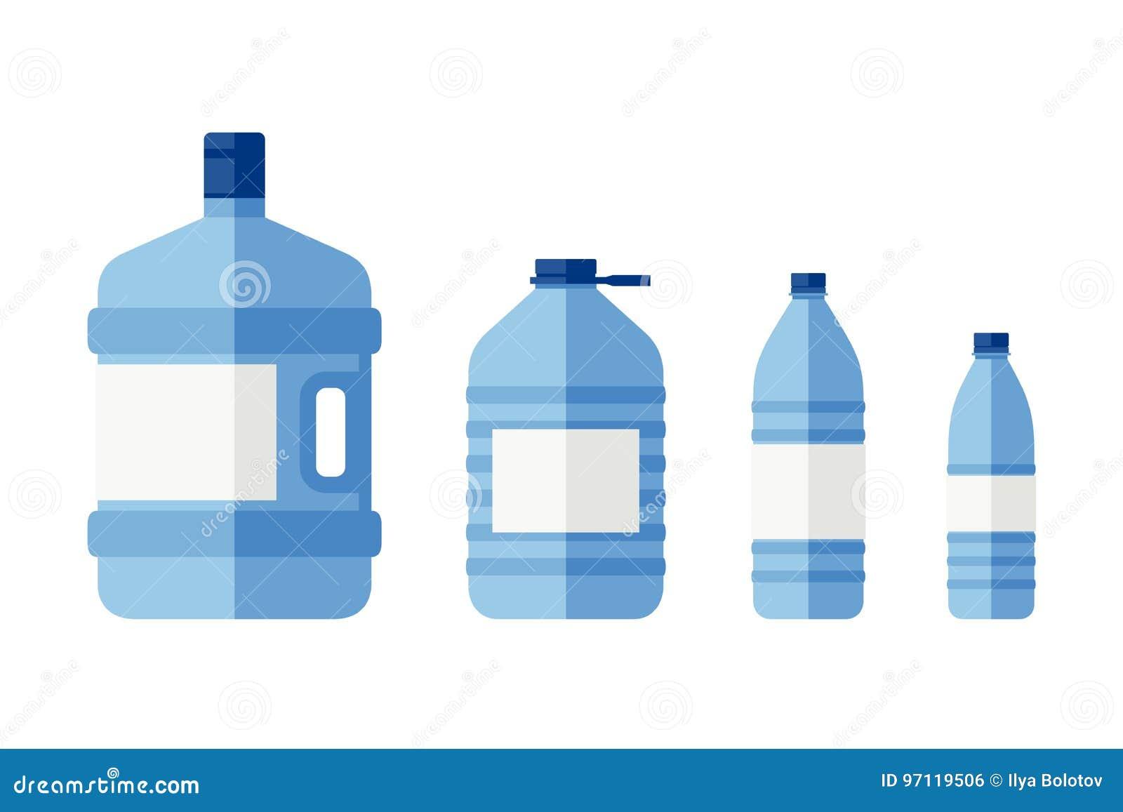 Bouteilles pour l eau