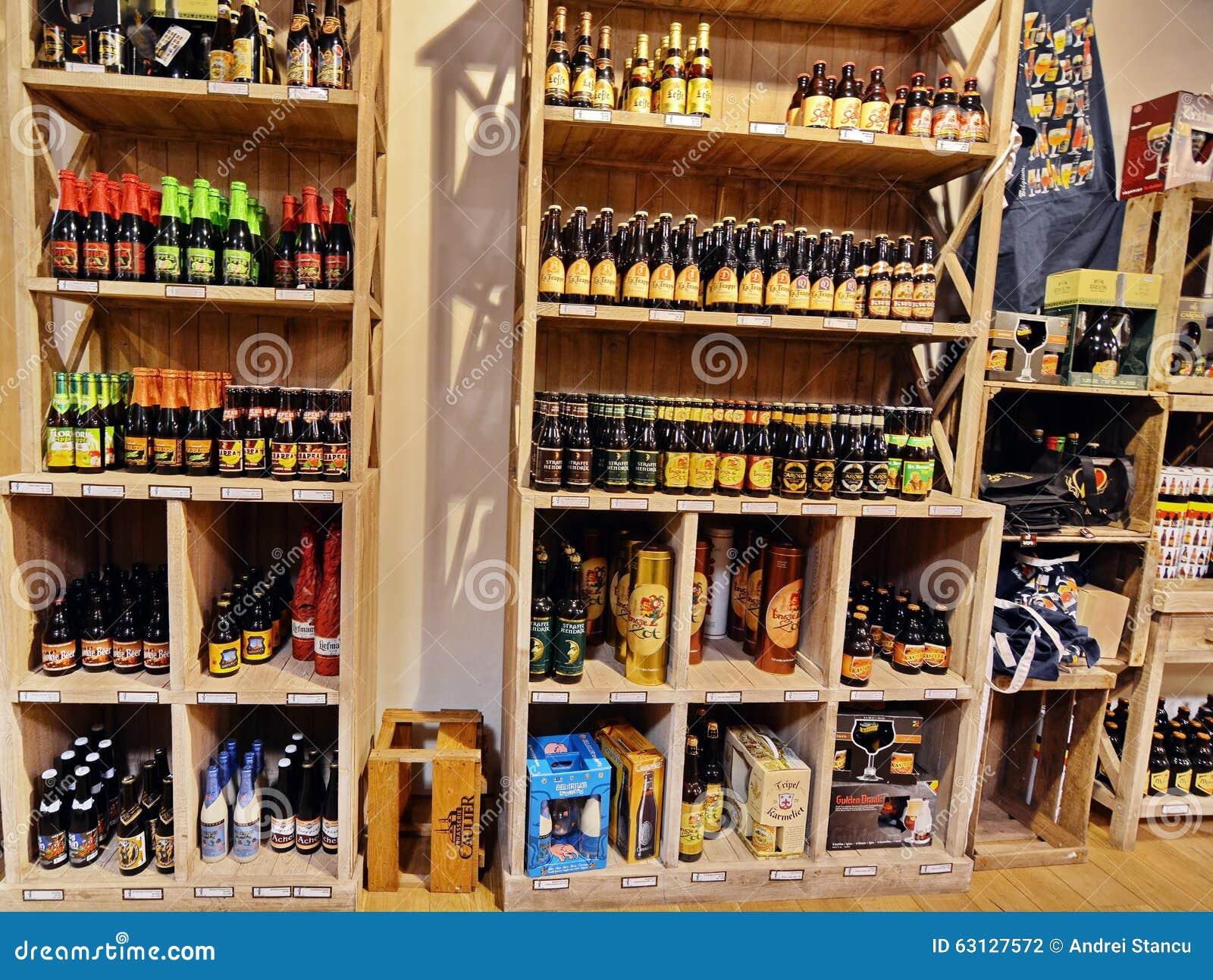 Boutique de bière de Prague