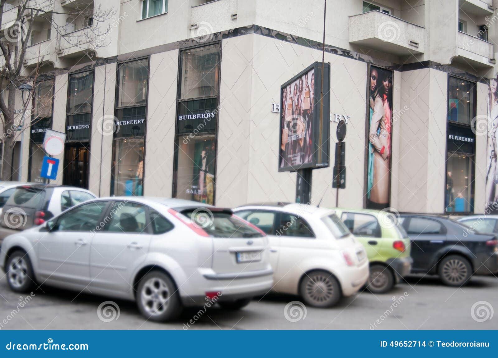 Boutique de Burberry