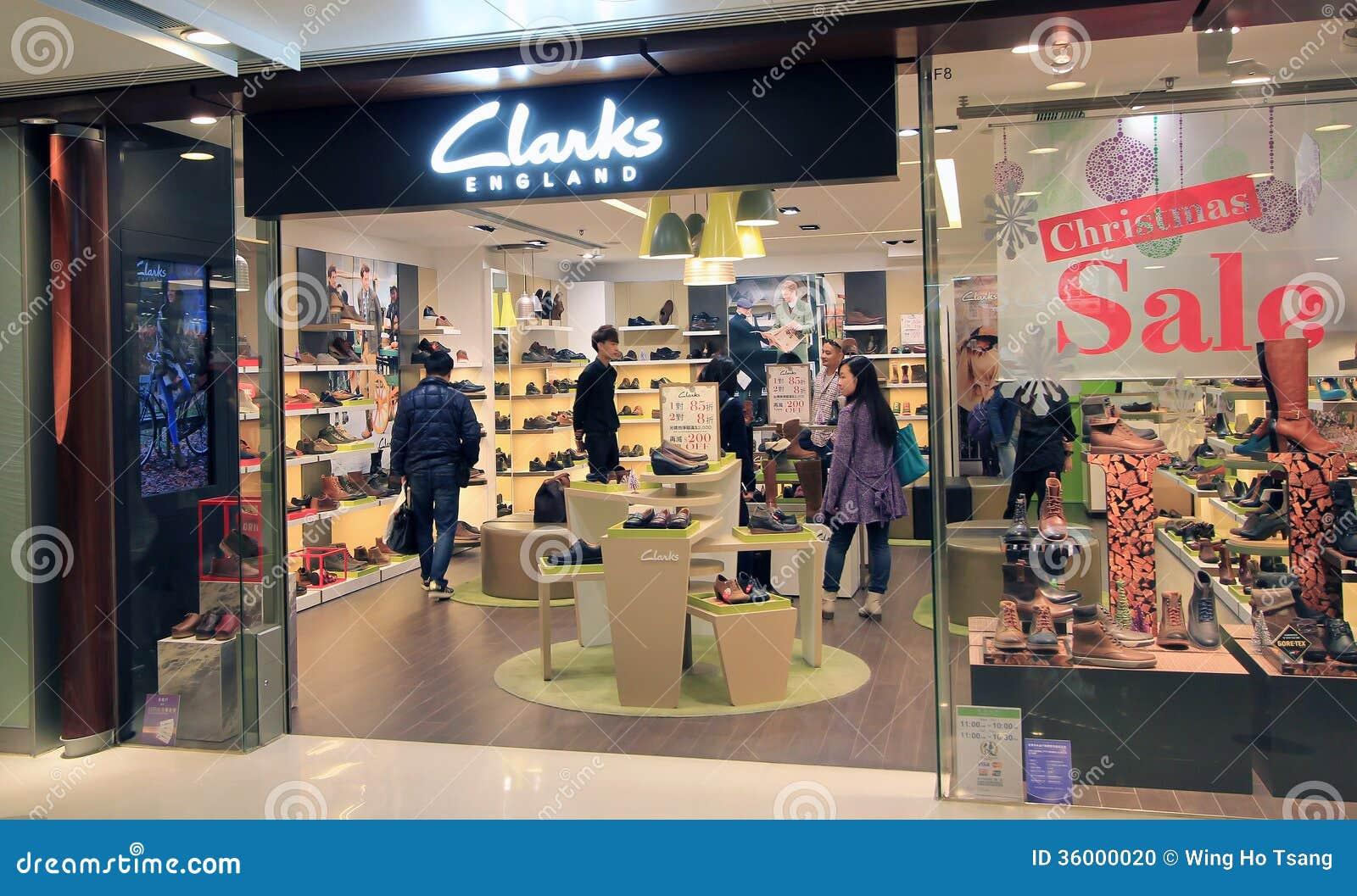 Hong De Kong Du Boutique Clarks En Éditorial Image wqHqZt