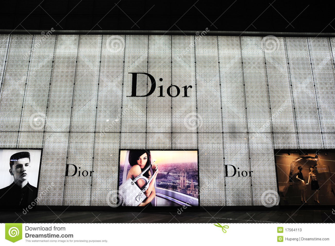 Boutique de la manera de Dior