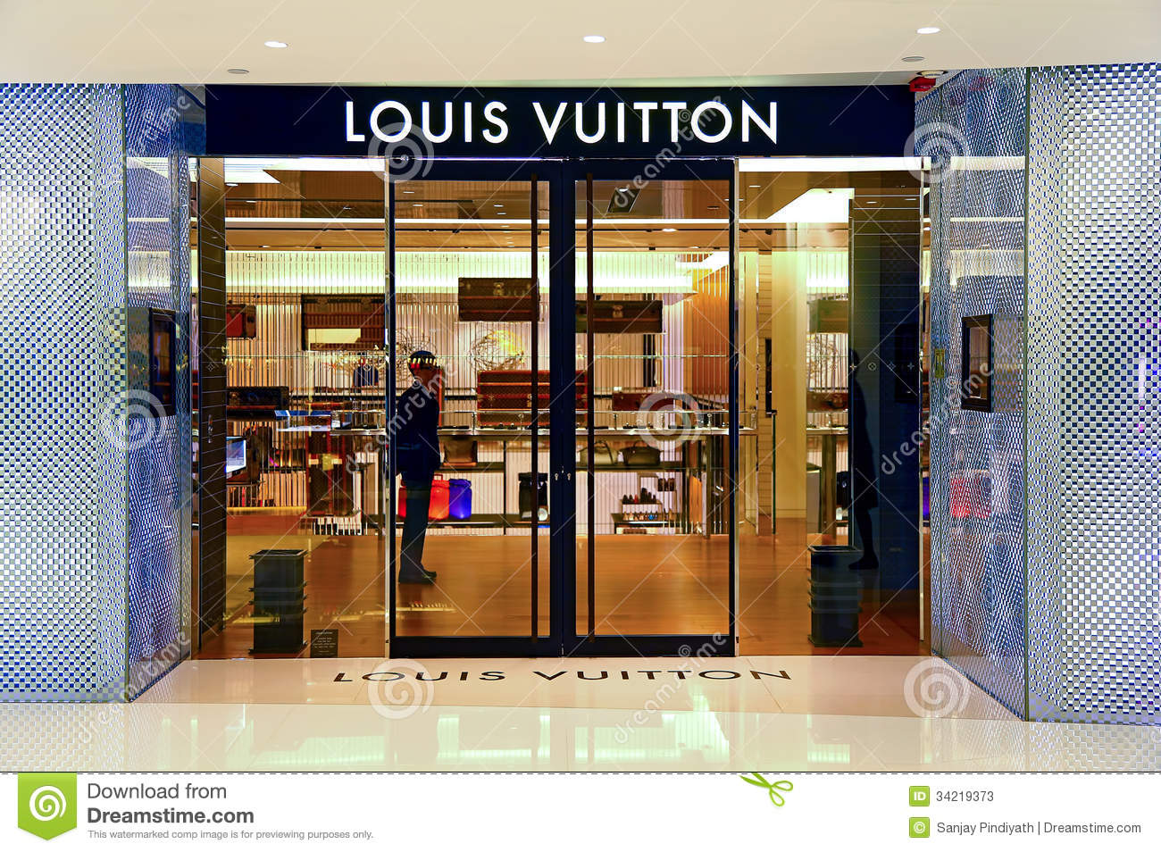 Louis Vuitton Boutique