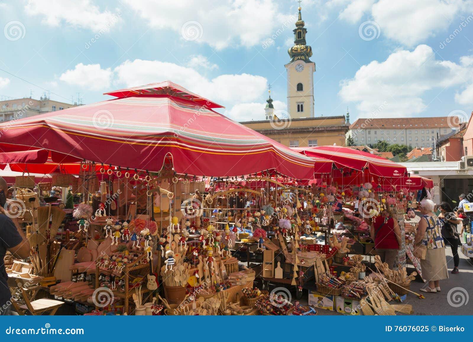 Boutique de Souvernirs à Zagreb