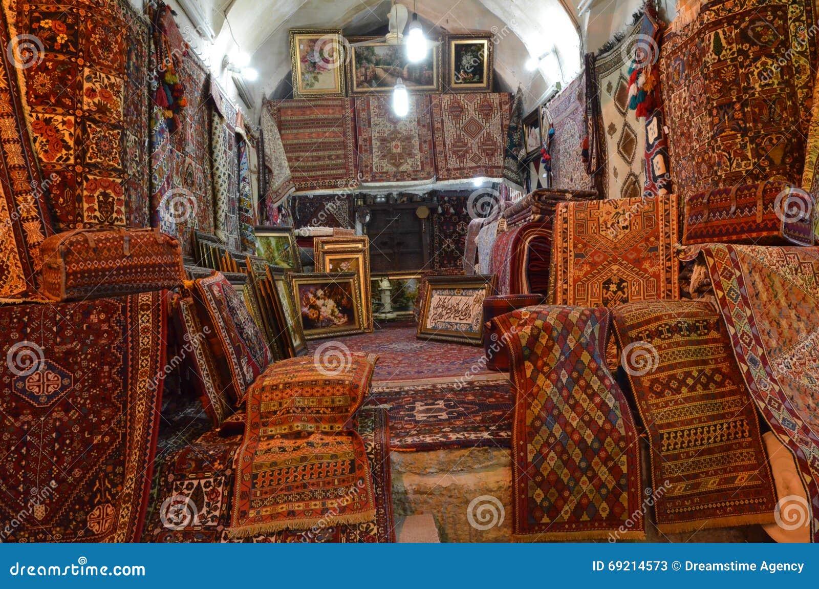 Boutique De Tapis Image Stock Image Du Handcraft Bazar 69214573