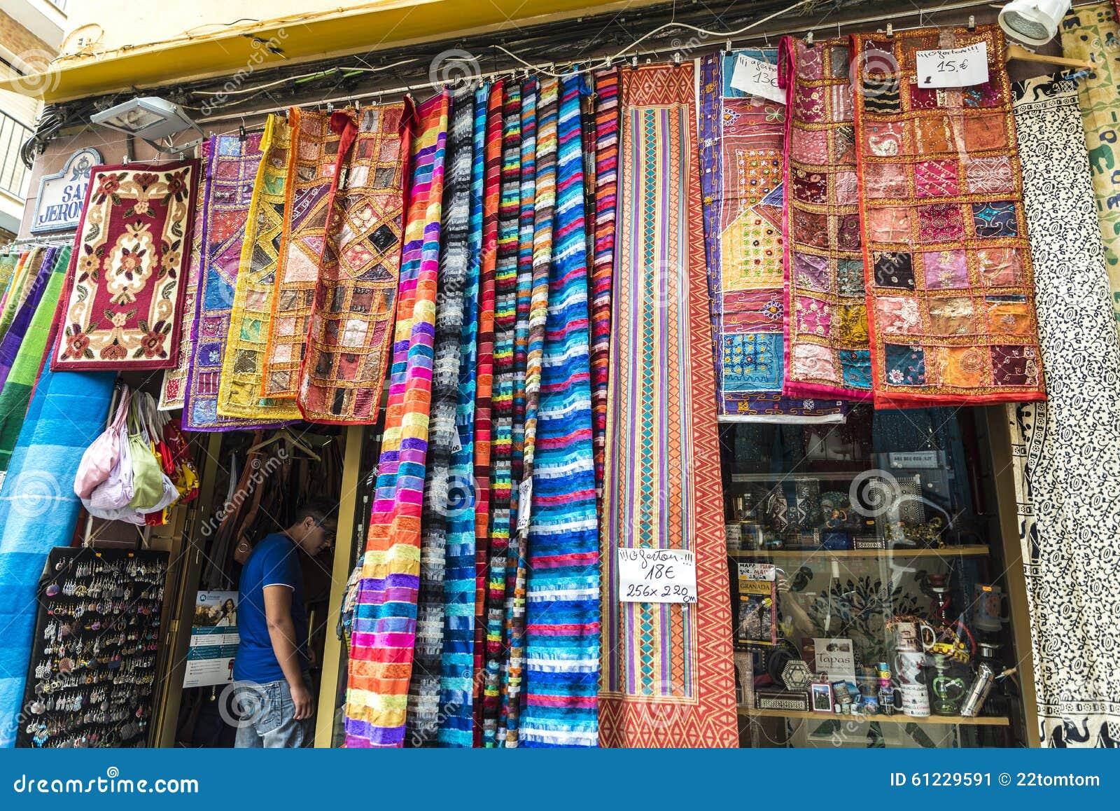 Boutique De Tapis Espagne Photo Editorial Image Du Tapis 61229591
