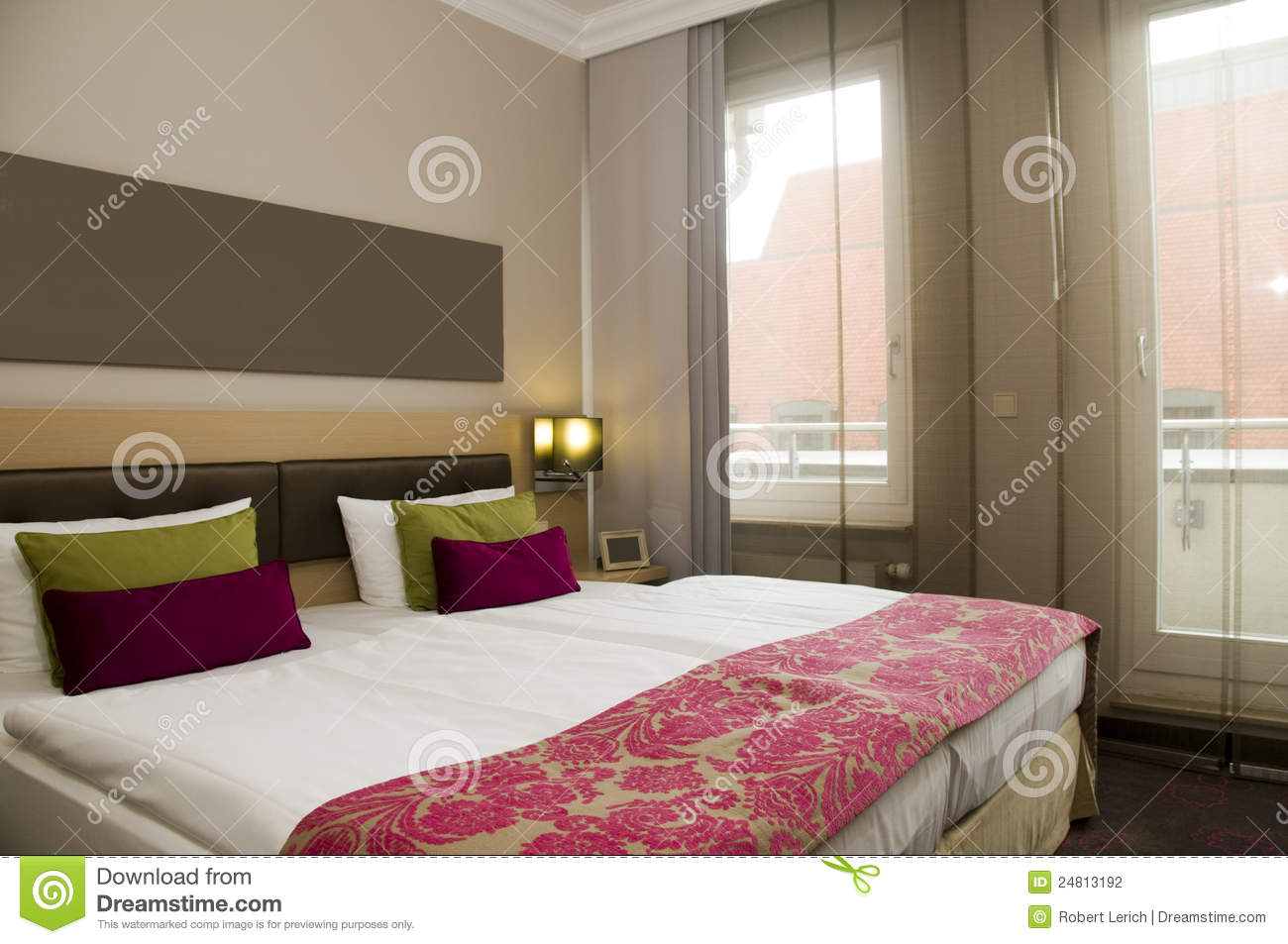 boutique hotel room berlin germany stock photography image 24813192. Black Bedroom Furniture Sets. Home Design Ideas