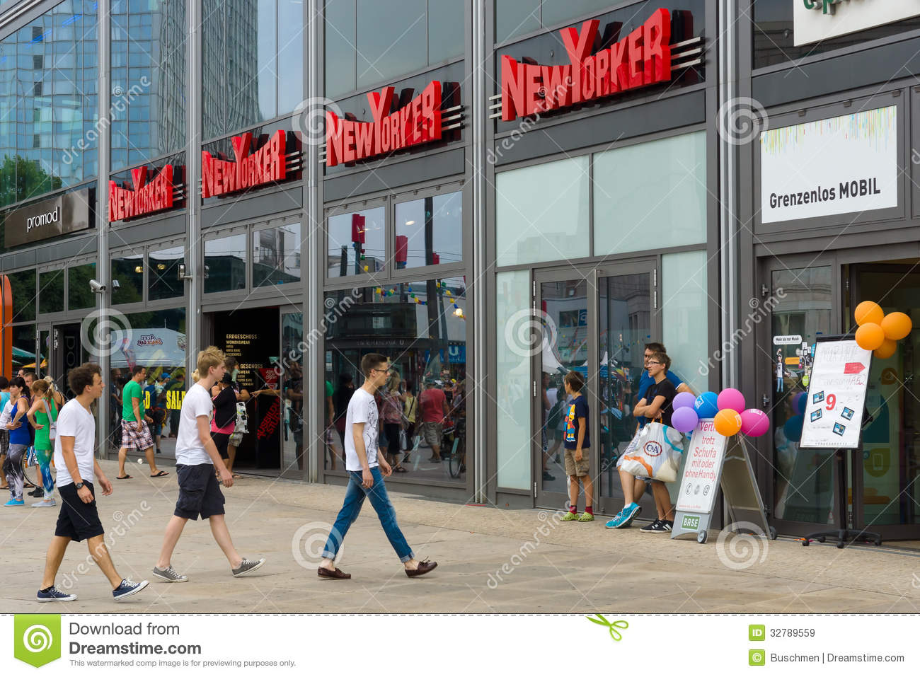 New Yorker Fashion Stores In Berlin