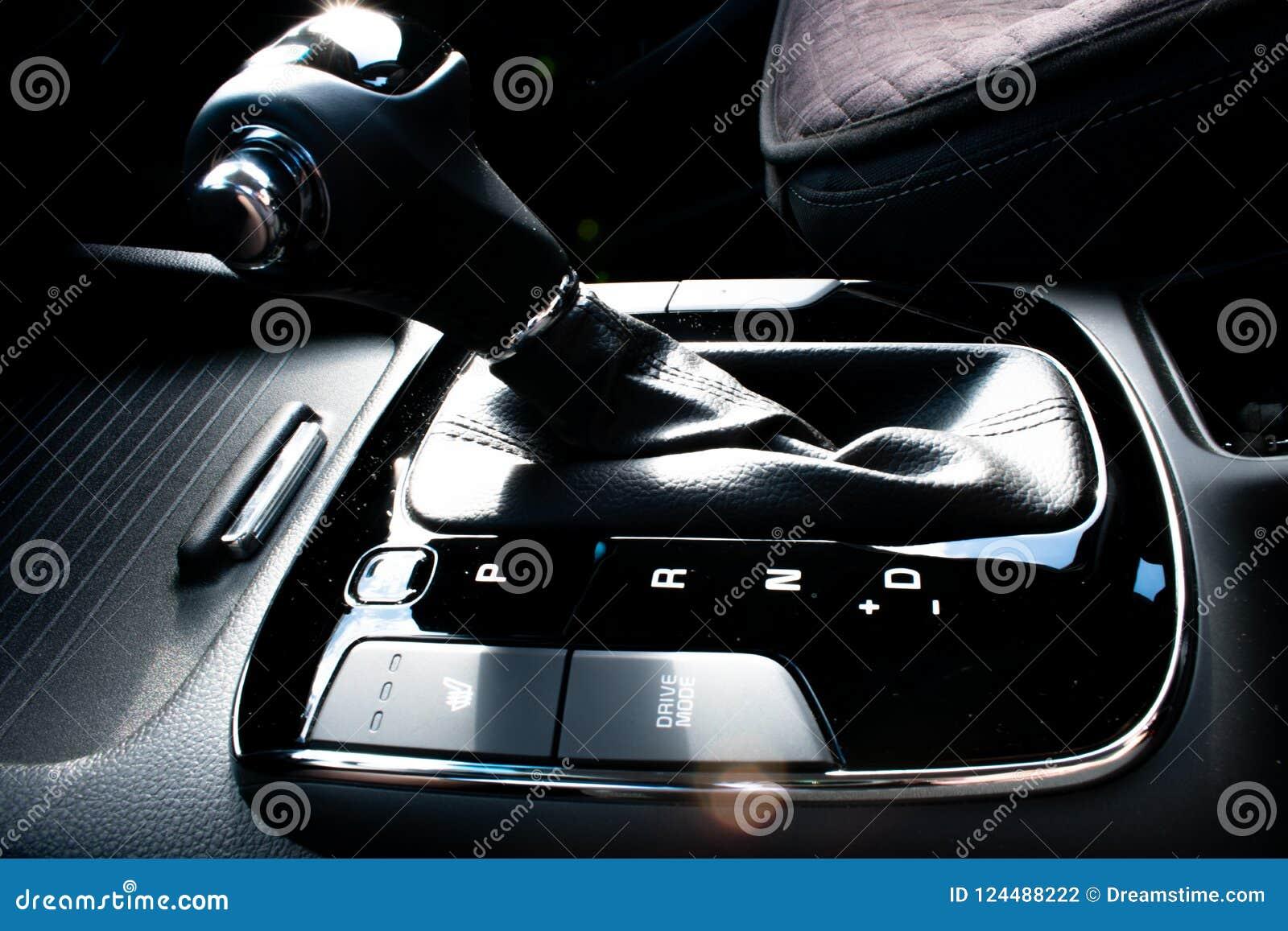 Bouton de décalage de transmission automatique