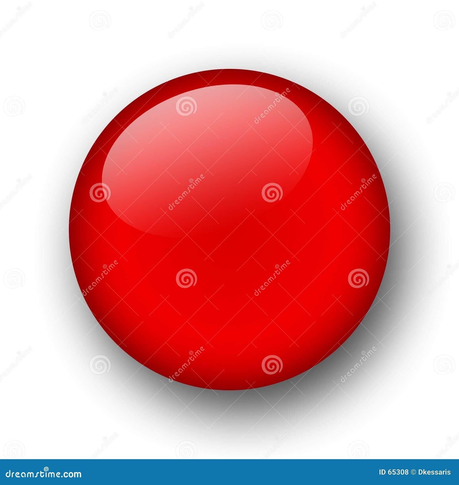 Download Bouton de Web illustration stock. Illustration du rouge - 65308