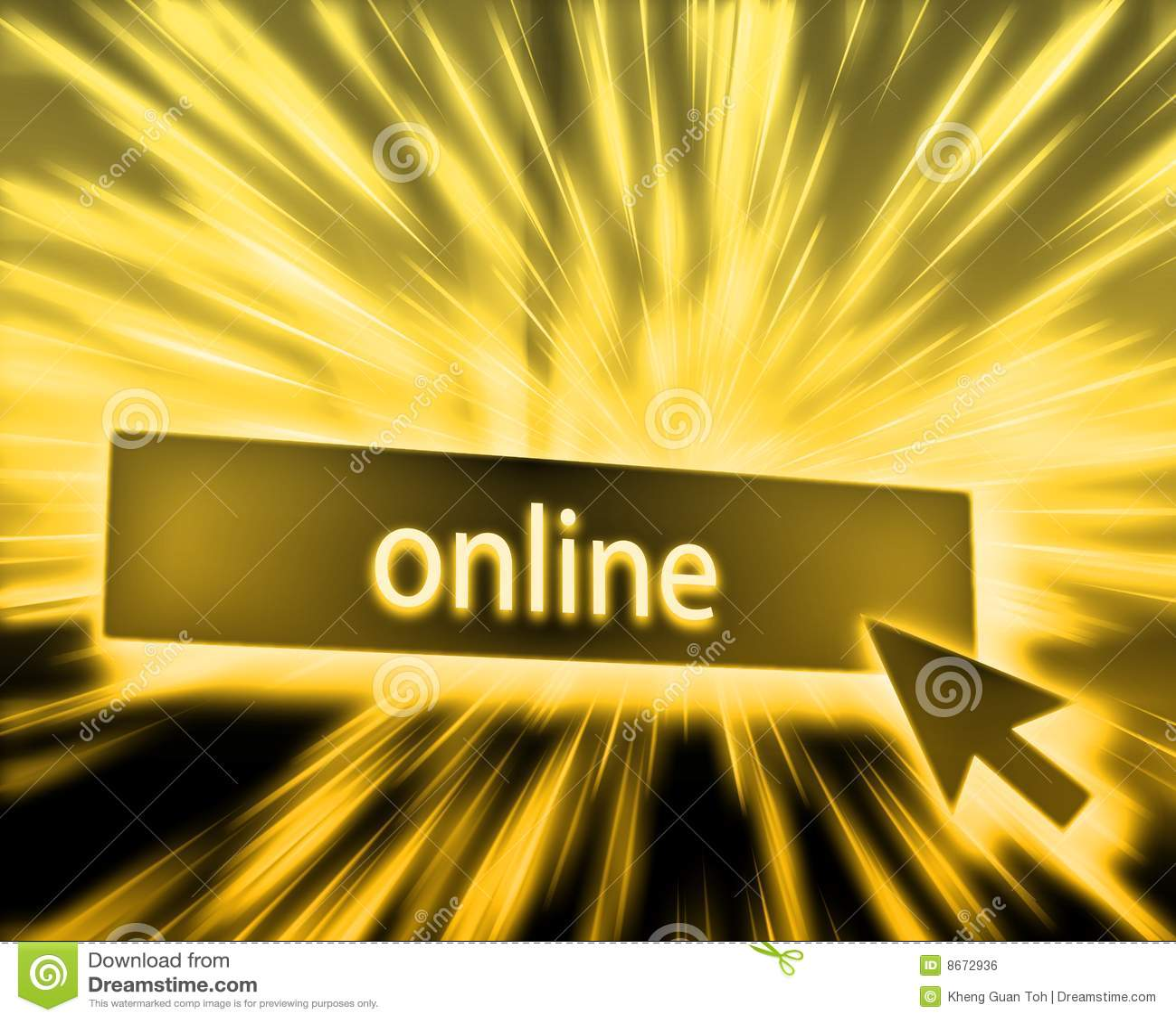 Bouton en ligne