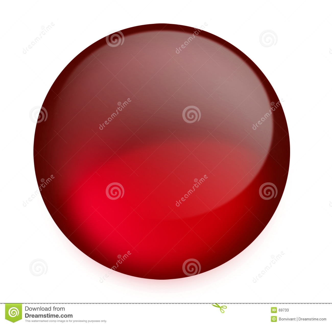 Bouton rouge