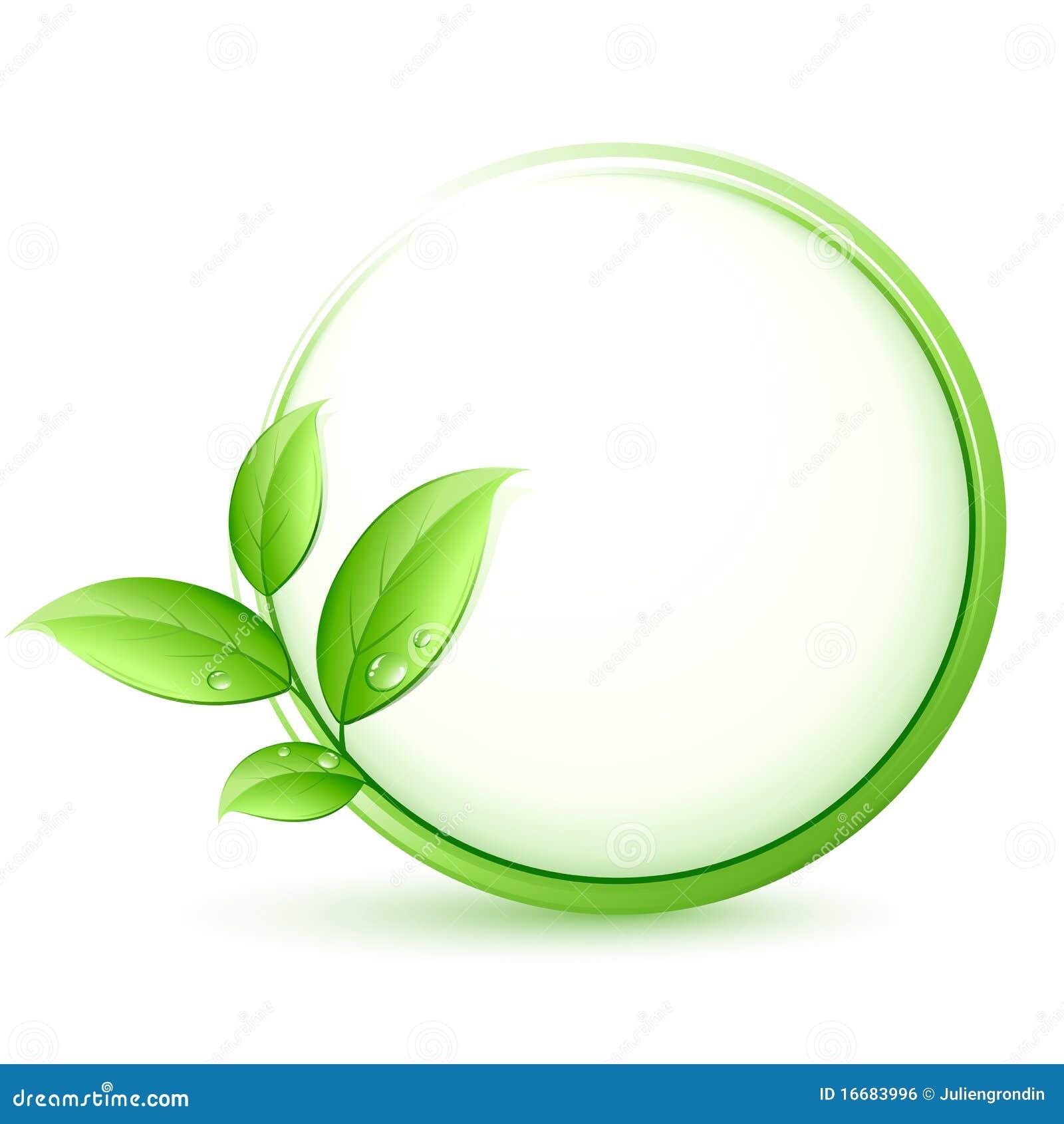 Bouton vert d eco