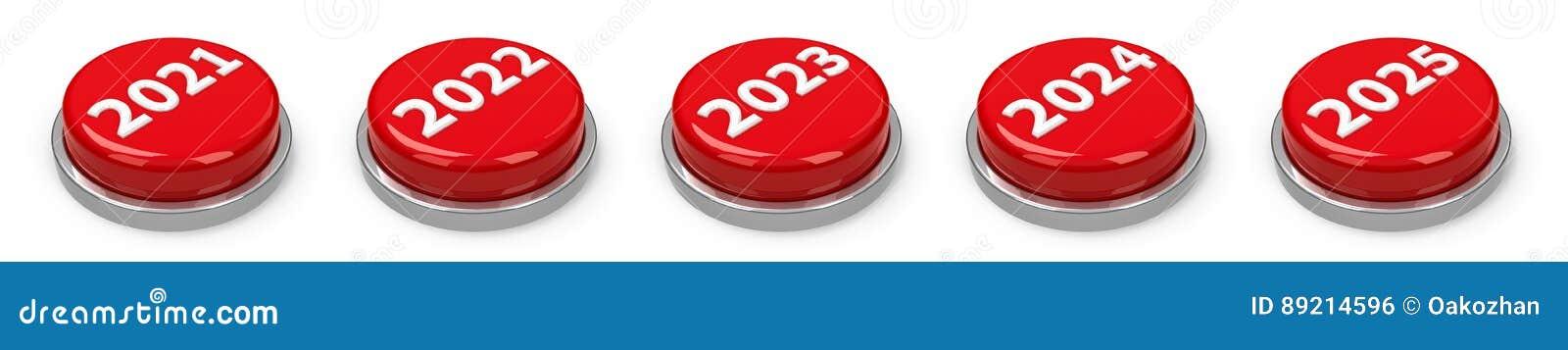 Boutons - 2021 2022 2023 2024 2025