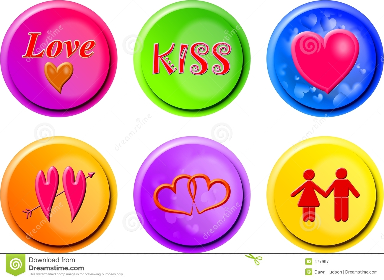 Boutons d amour