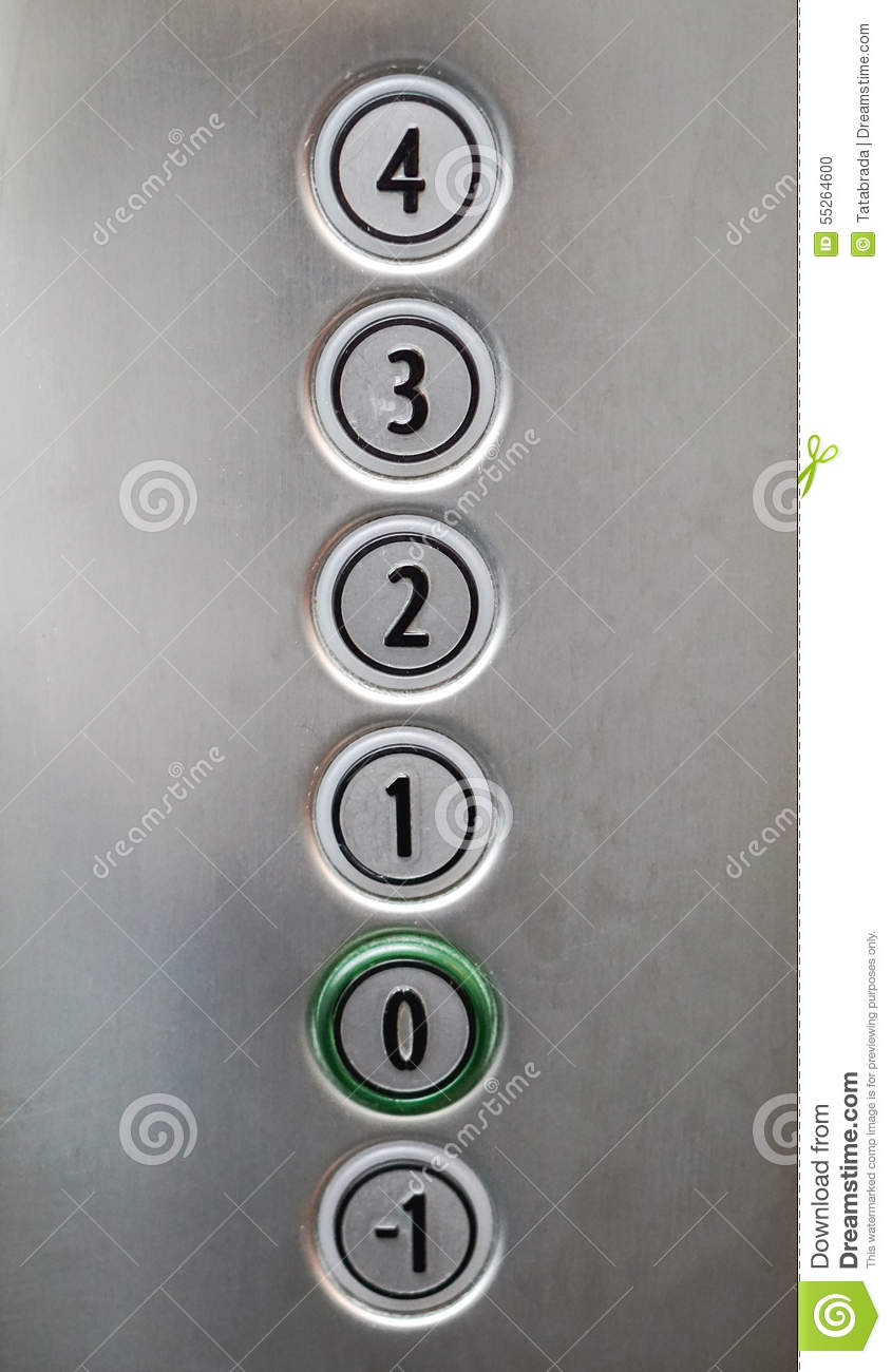 elevator buttons #9