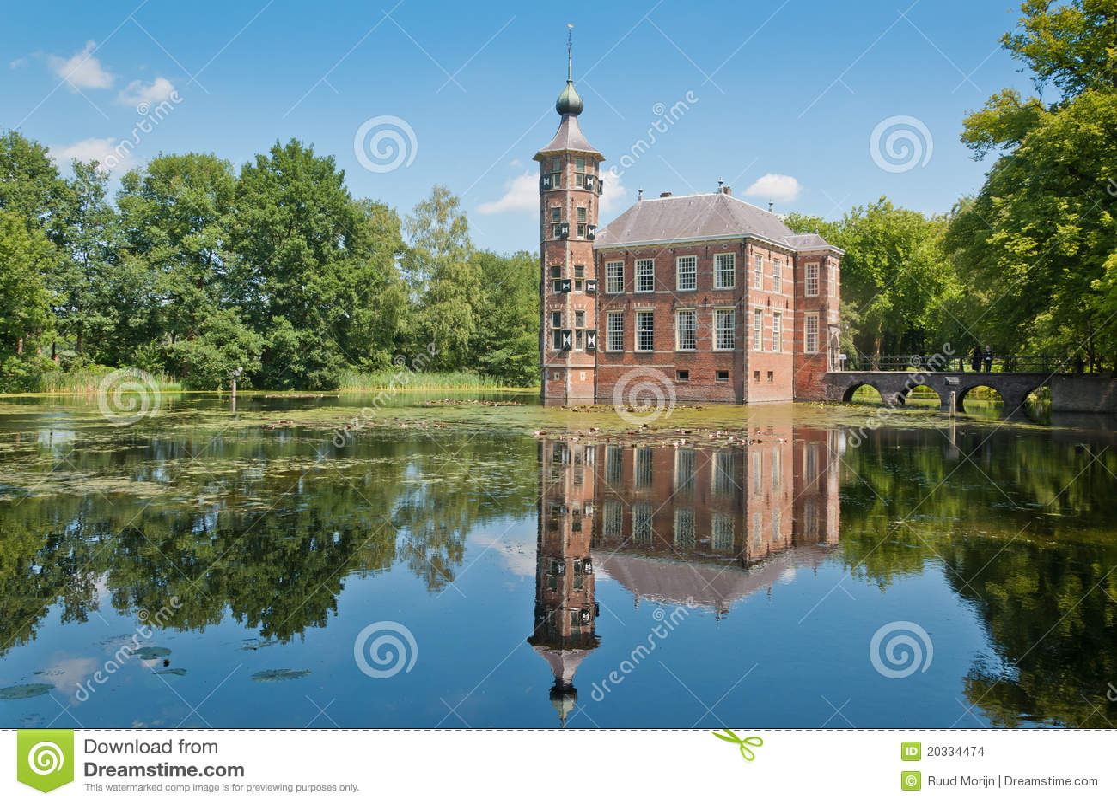 Bouvigne Brabant Breda grodowa holenderska północ
