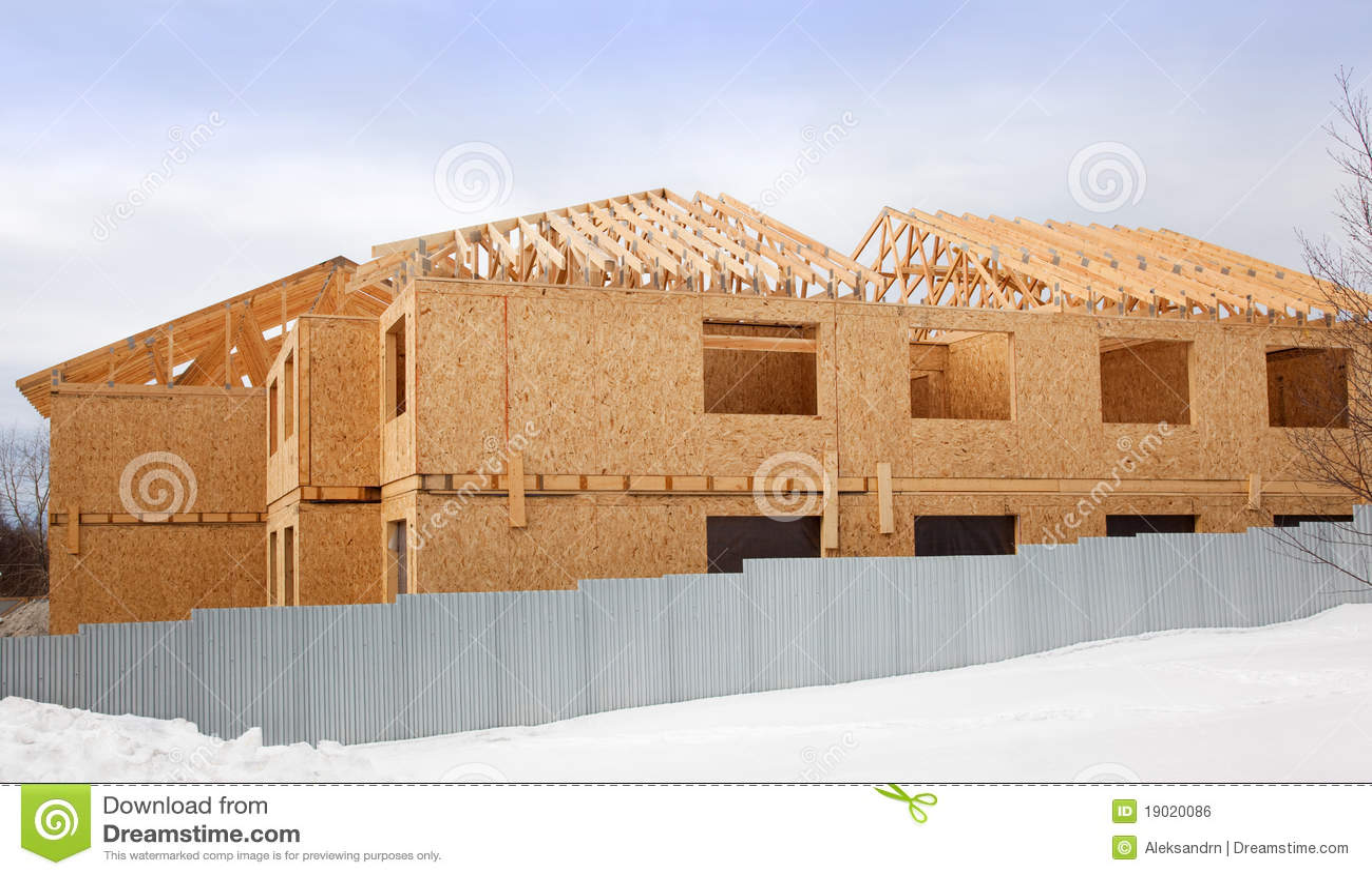 Bouw van een nieuw huis royalty vrije stock afbeelding afbeelding 19020086 - Nieuw huis binneninrichting ...