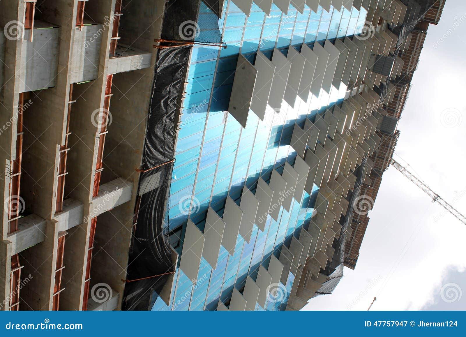 Bouwconstructie in Miami
