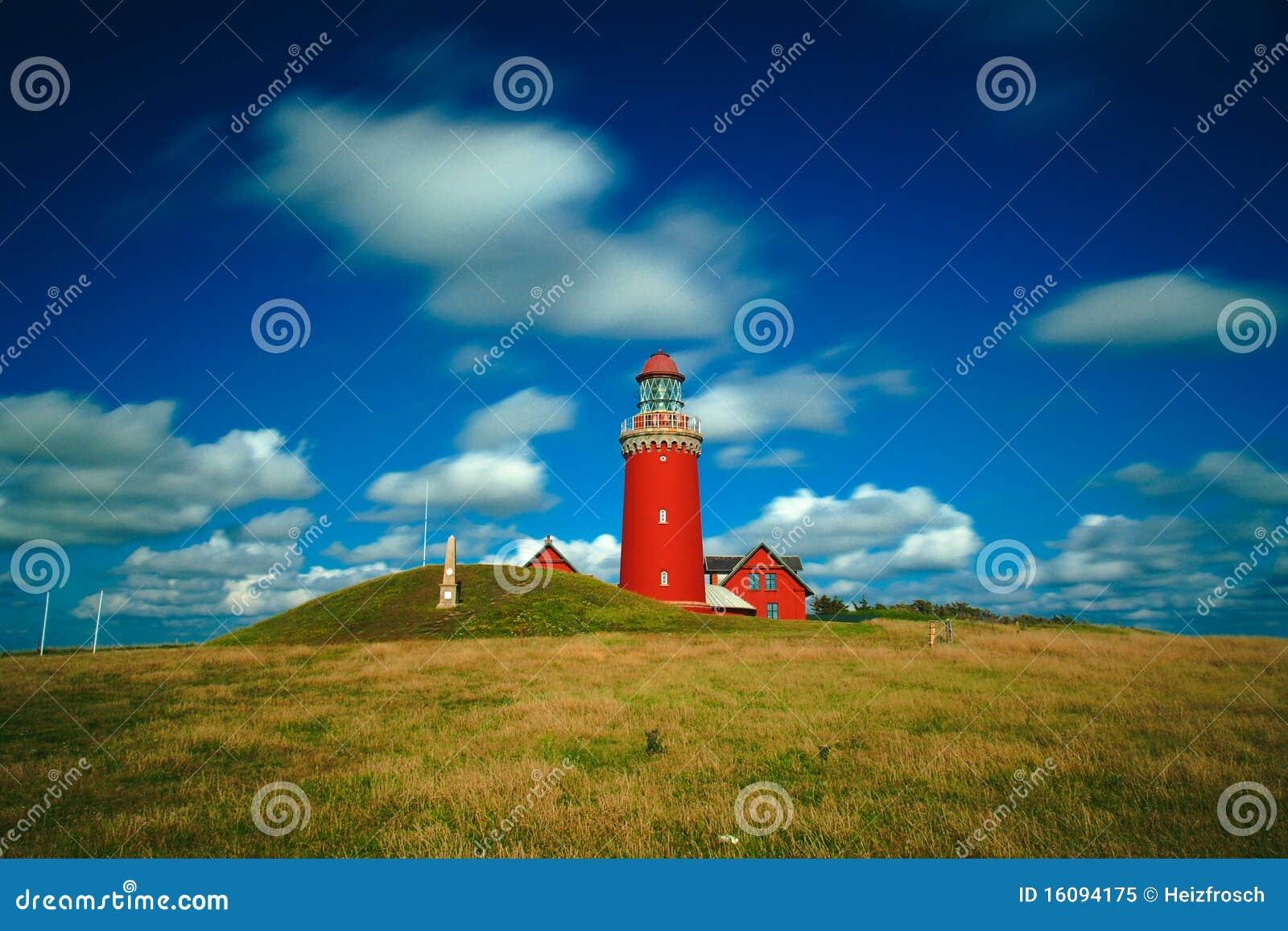 Bovbjerg Fyr Leuchtturm