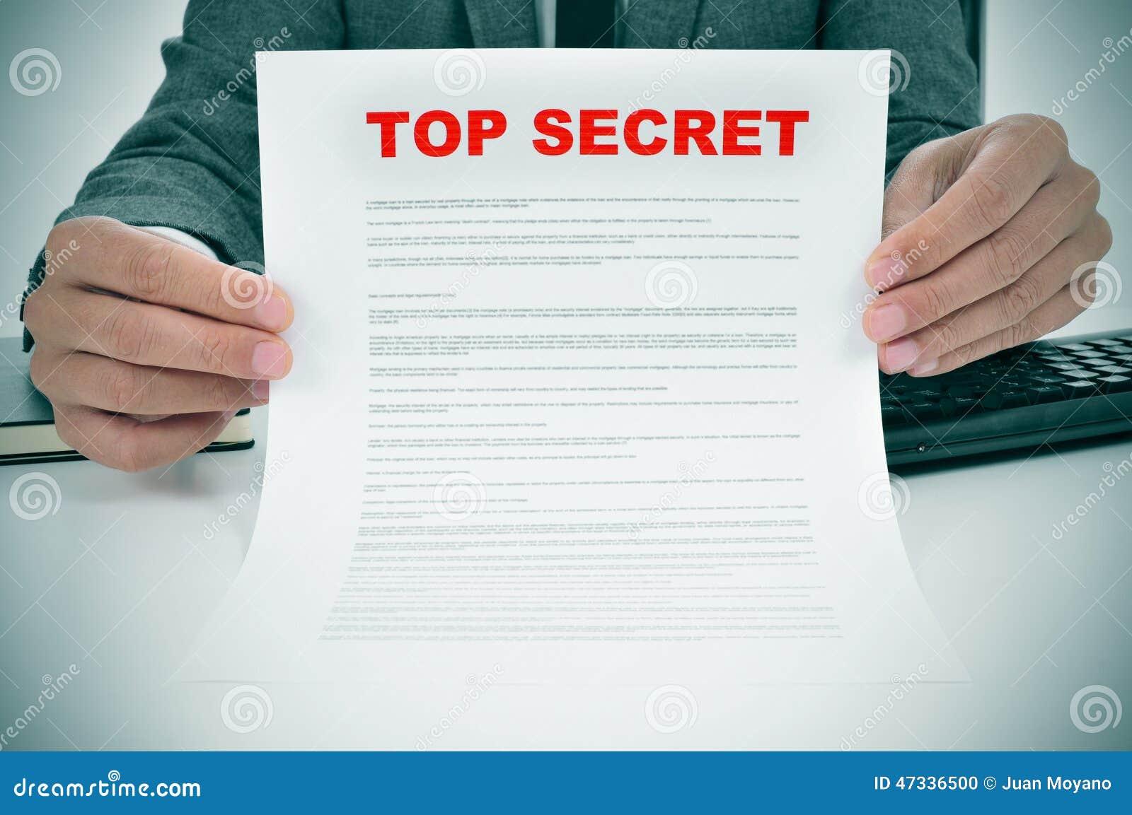 Bovenkant - geheim