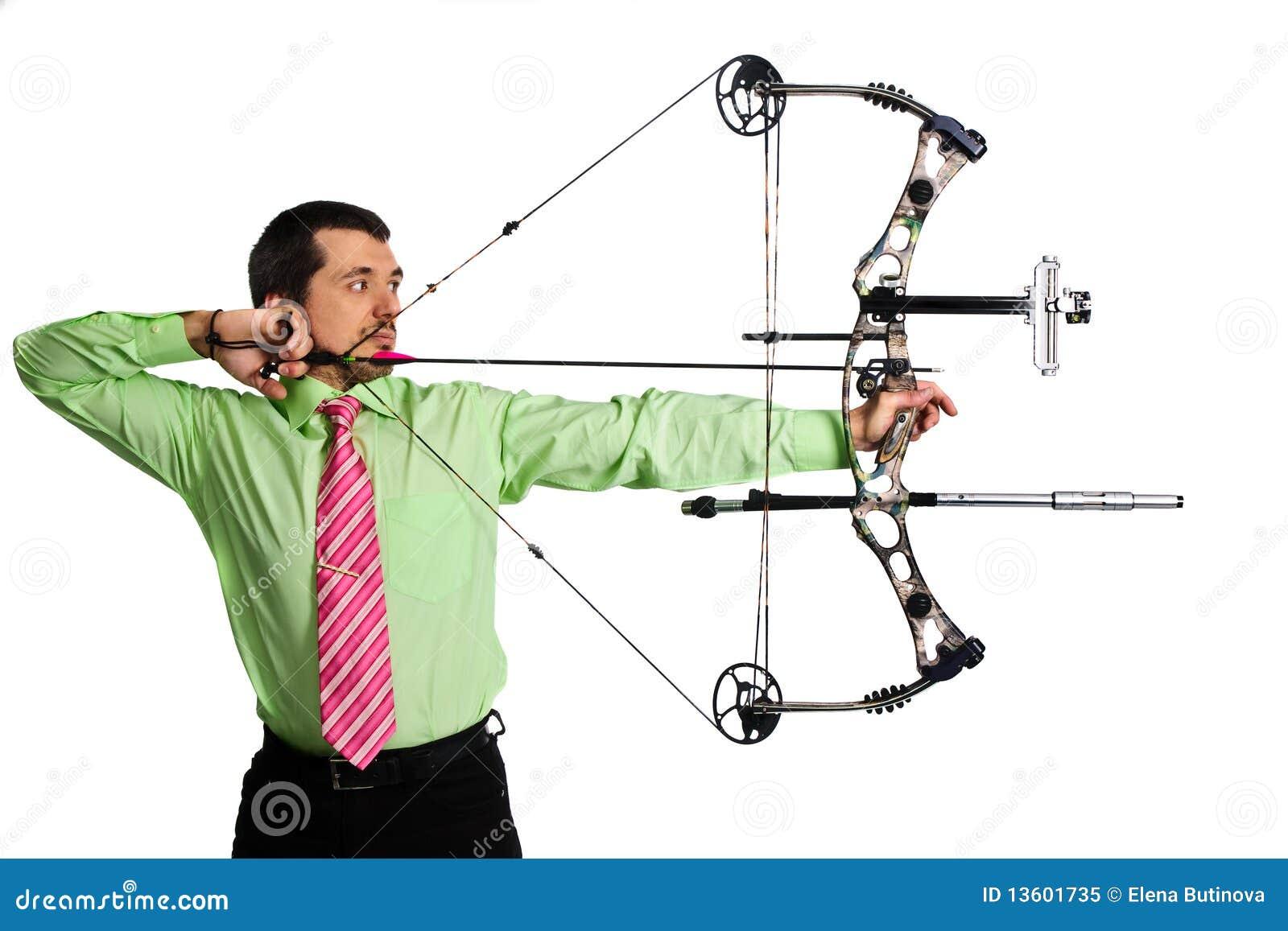Bow-hunter Royalty Free Stock Photo - Image: 13601735