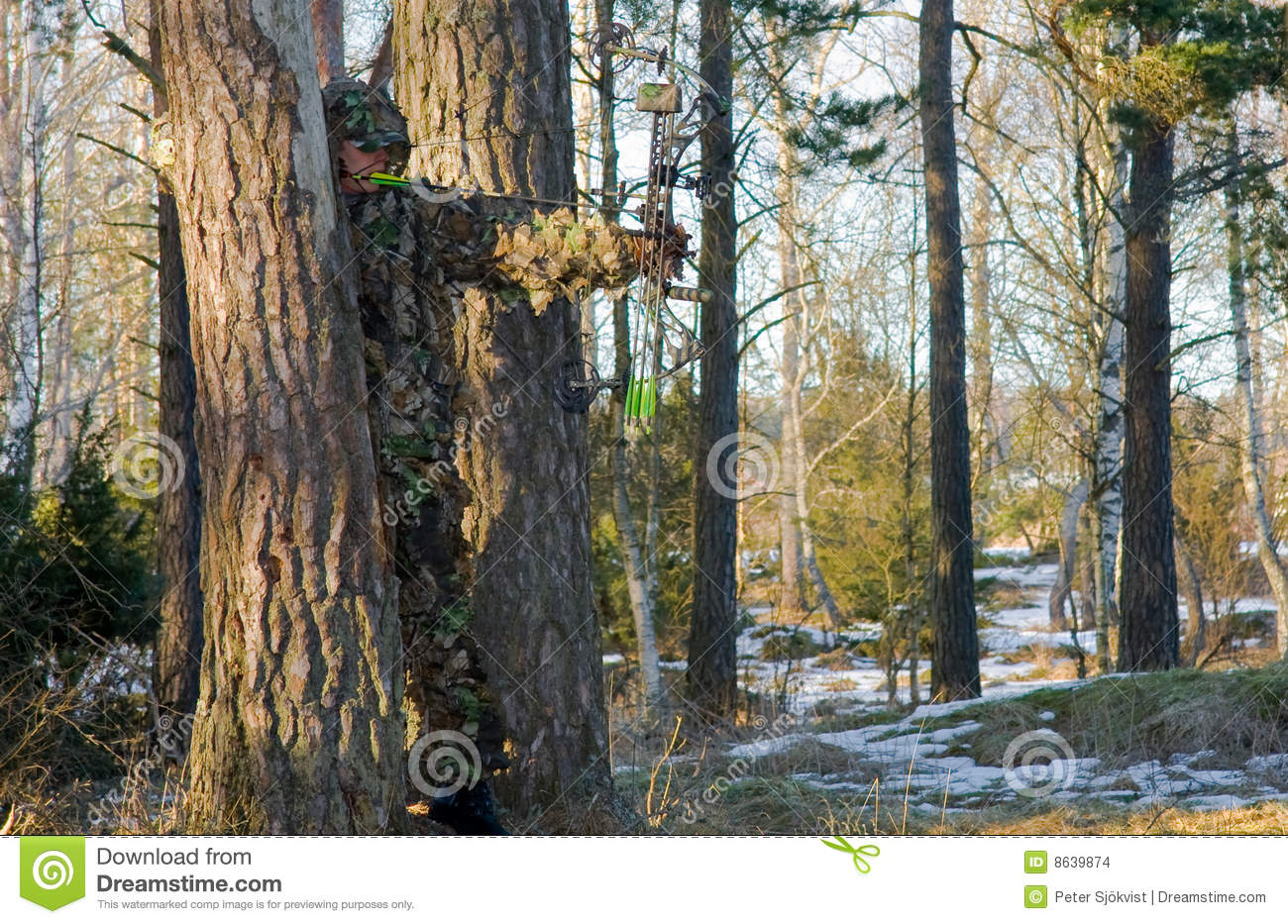 Bow hunter camouflage