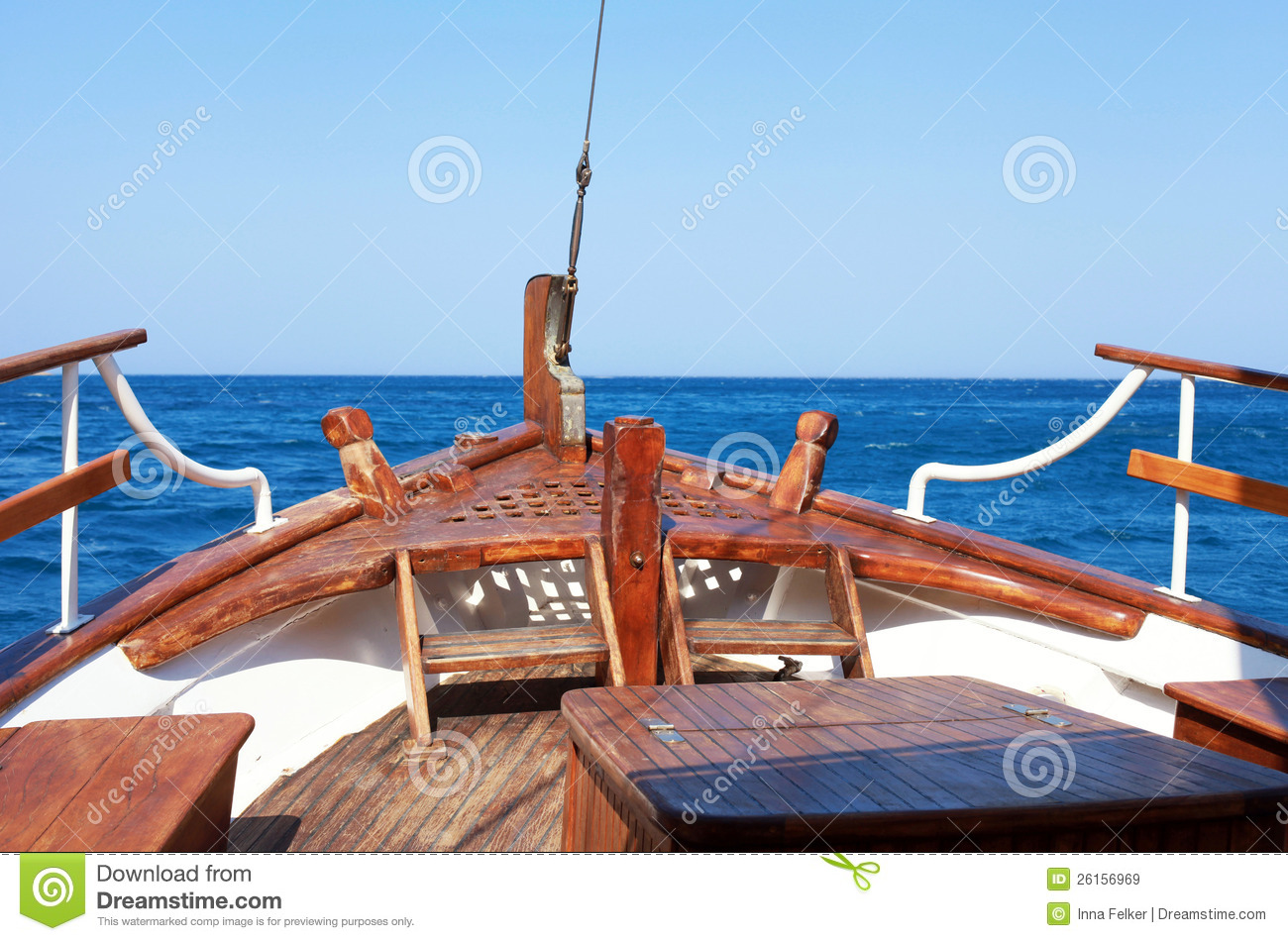 The Bow Of Old Wood Ship Royalty Free Stock Images - Image: 26156969