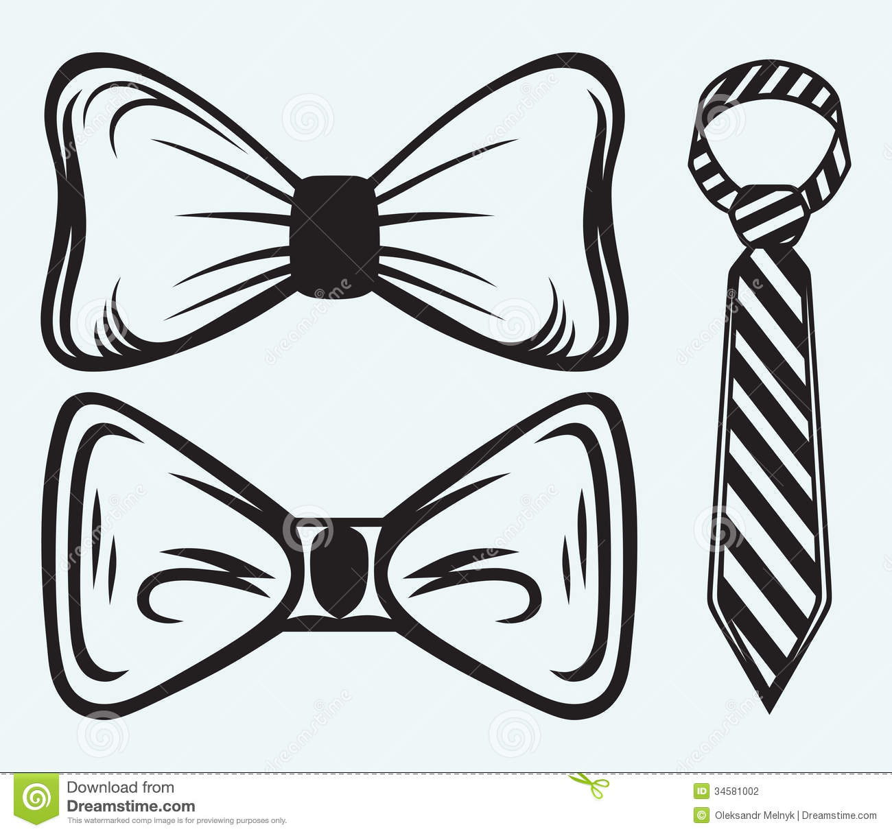 Cute Bow Tie Drawing Bow tie Stock Photography