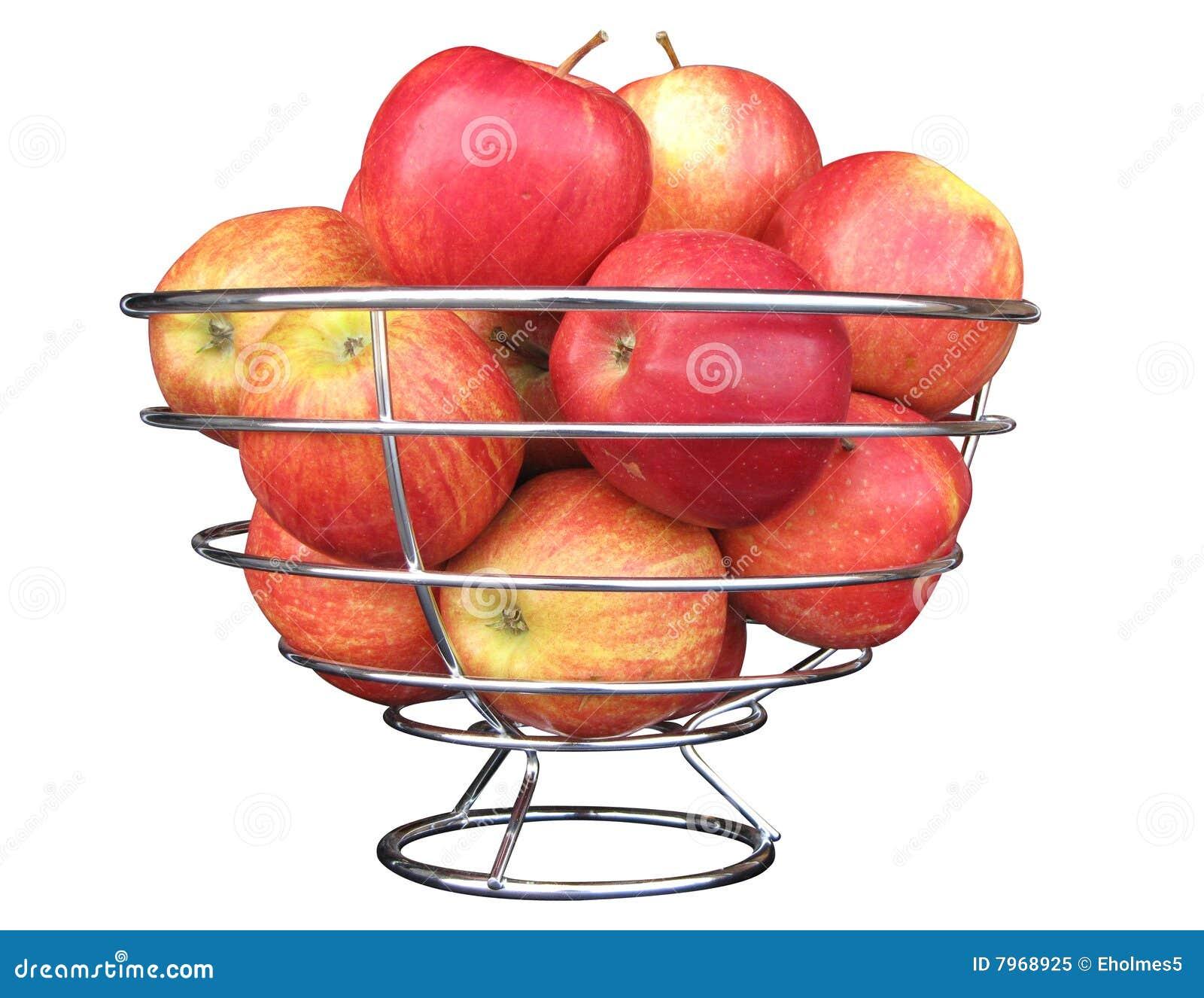 Bowl of apples stock image. Image of bowl, fruit, kitchen ...