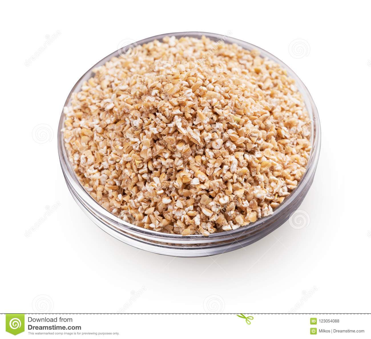 Barley grits. What kind of grain do you get from dietary products