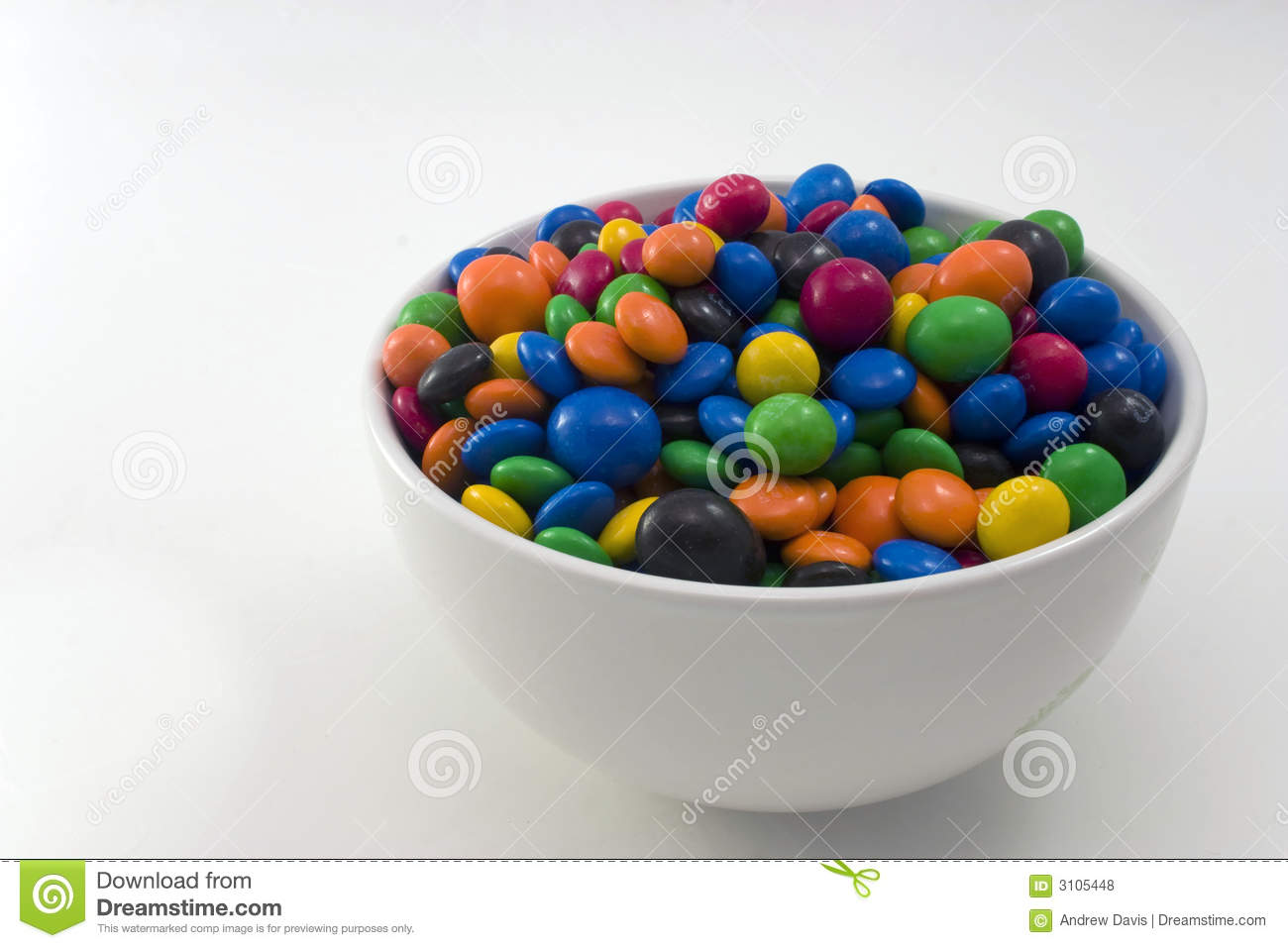 Bowl Of Candy Royalty Free Stock Photos - Image: 3105448