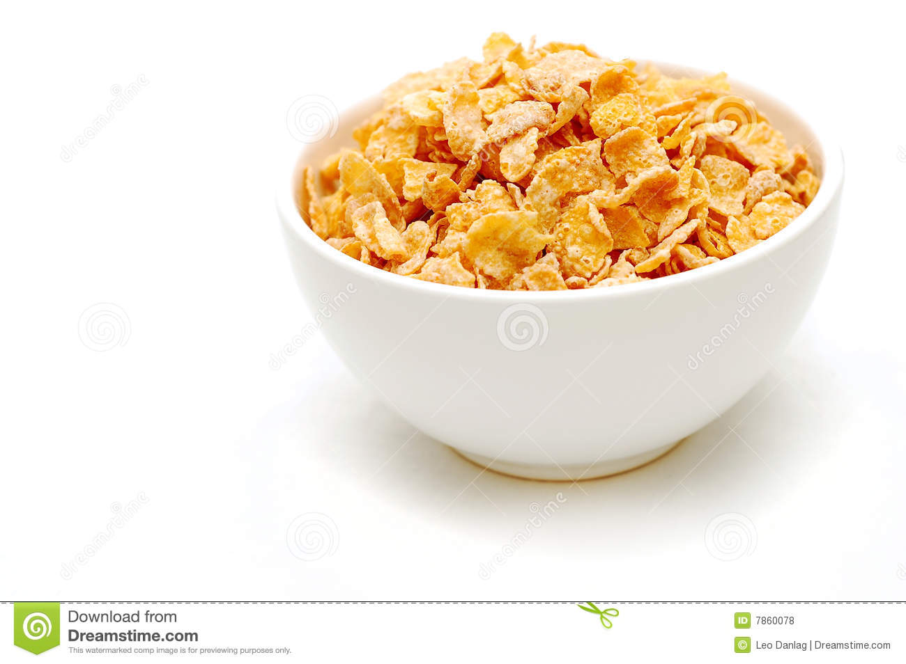 Bowl of cereal 2 stock photo image of yellow healthy for Tazon cereales
