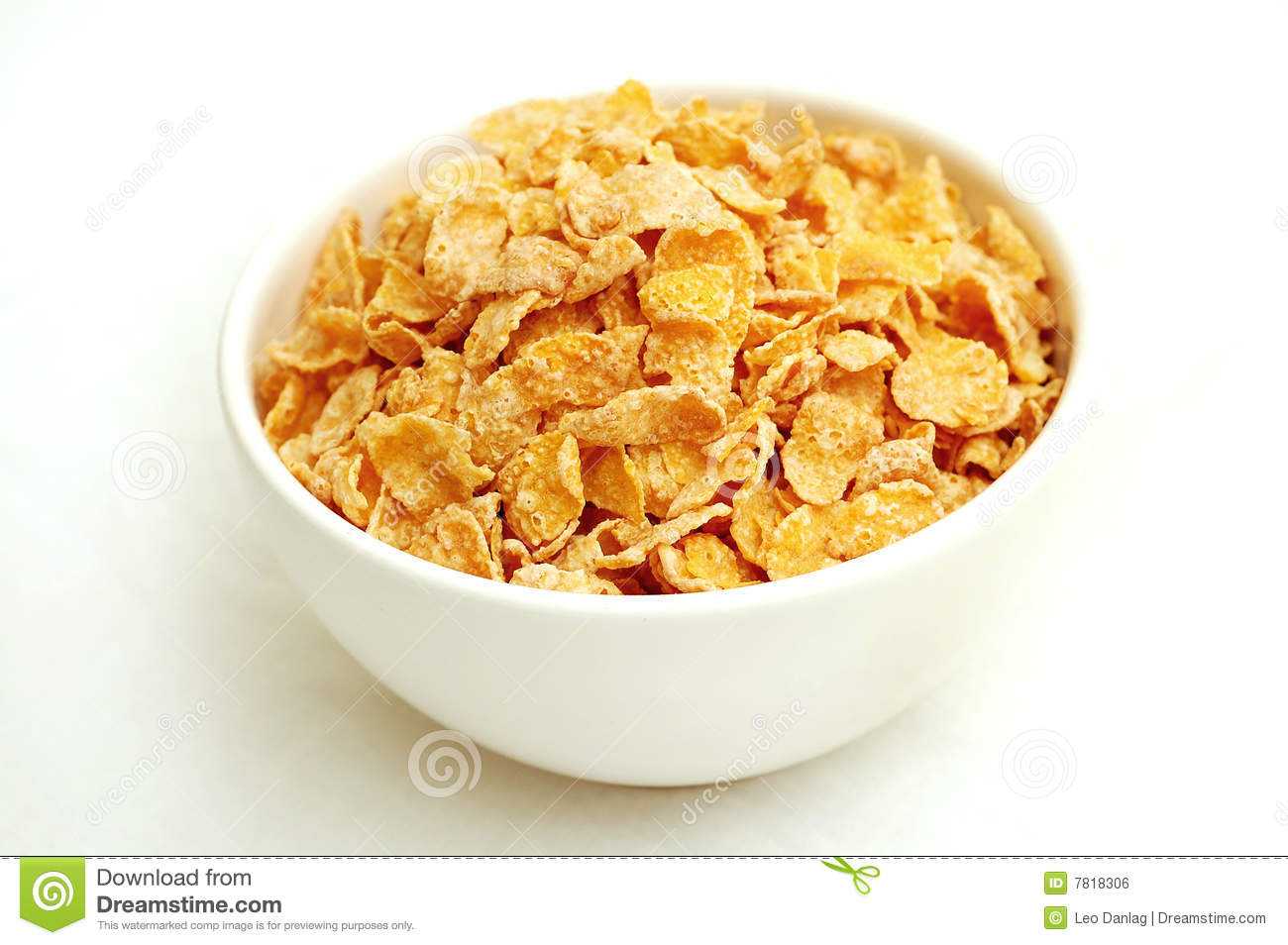 Bowl Of Cereal Royalty Free Stock Image - Image: 7818306