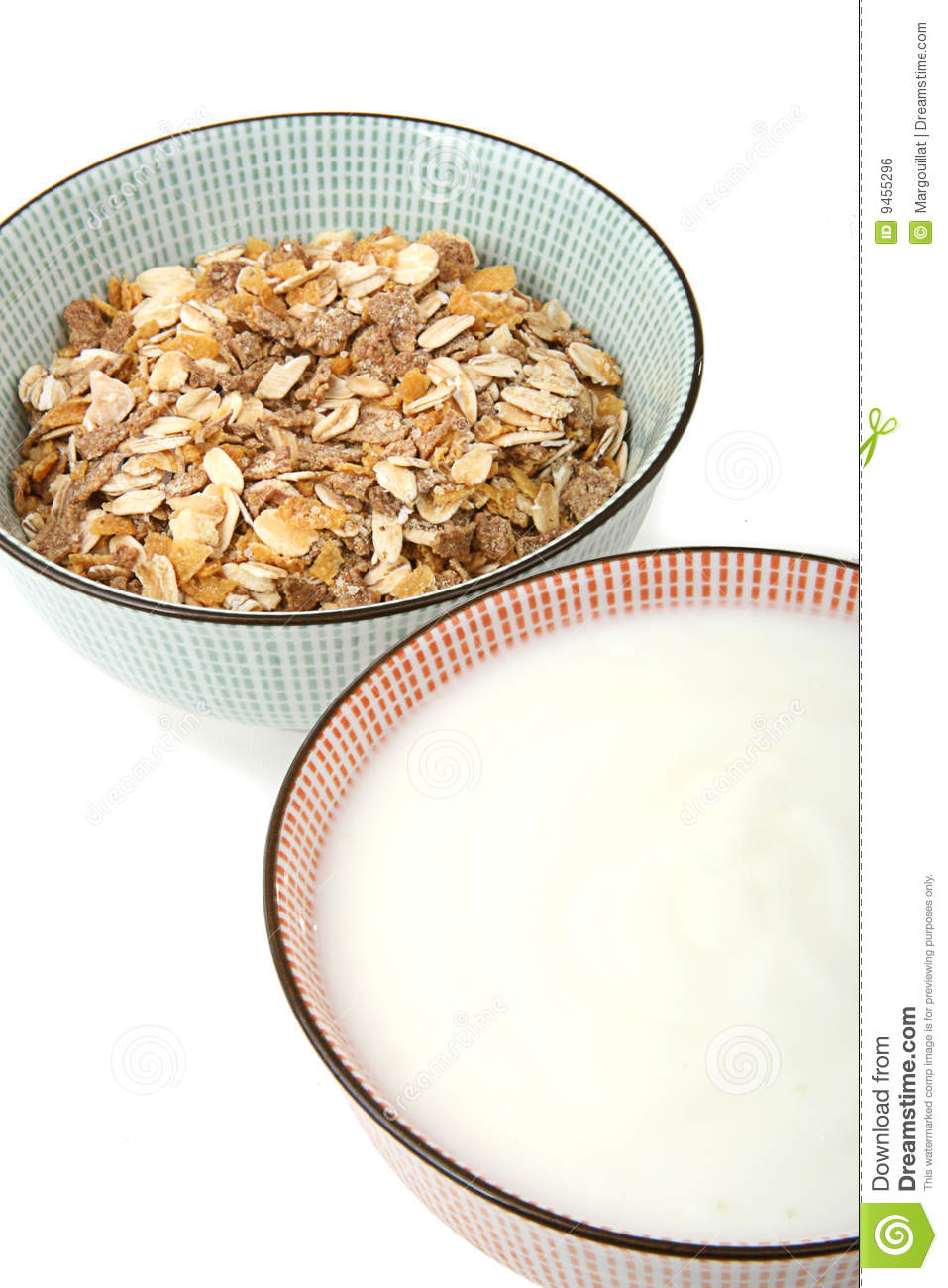 Bowl Of Cereal And Milk Royalty Free Stock Image - Image ...