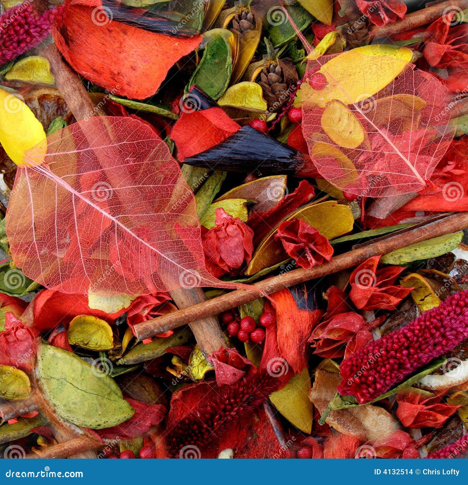 Bowl of Colourful Potpourri